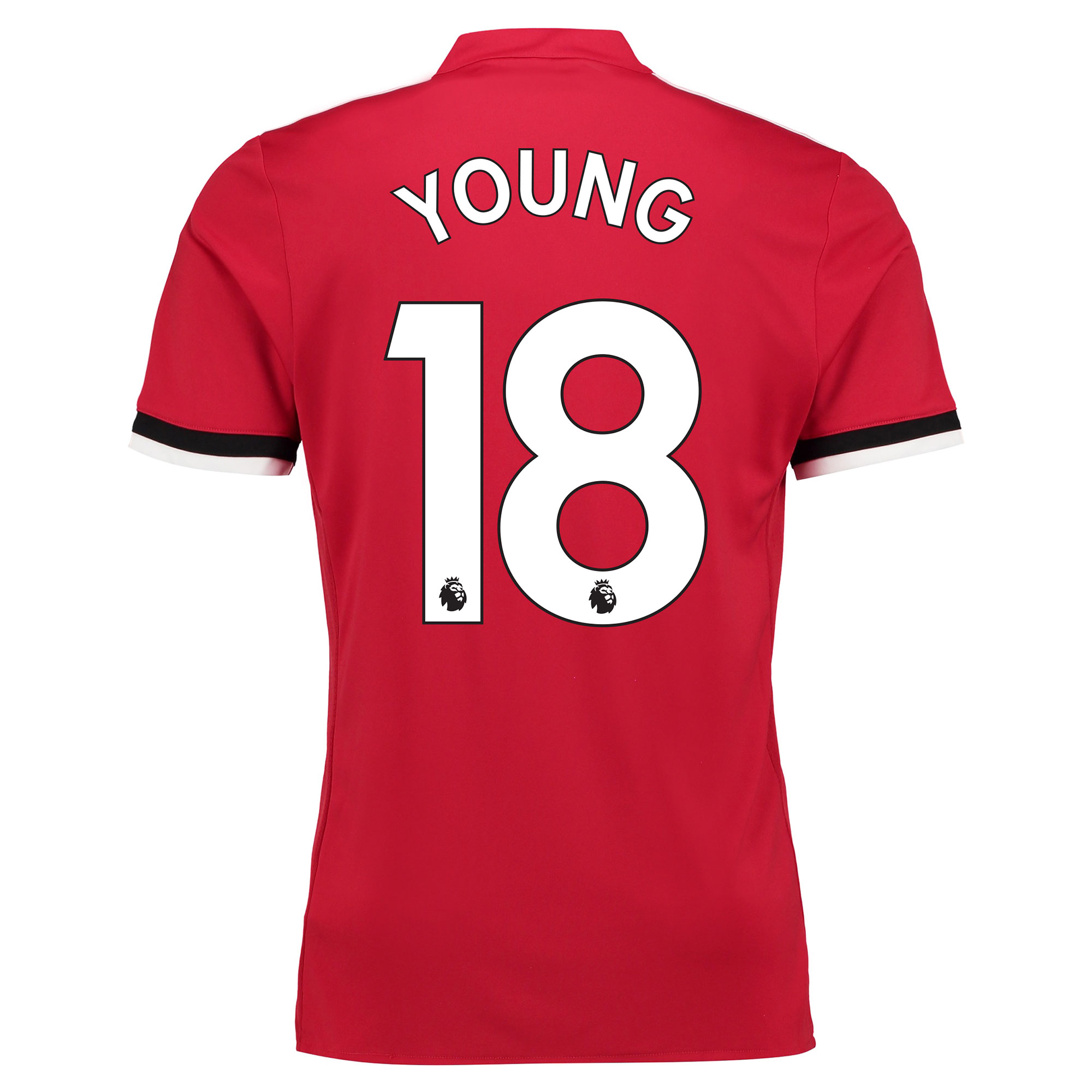 Manchester United Home Shirt 2017-18 - Kids with Young 18 printing