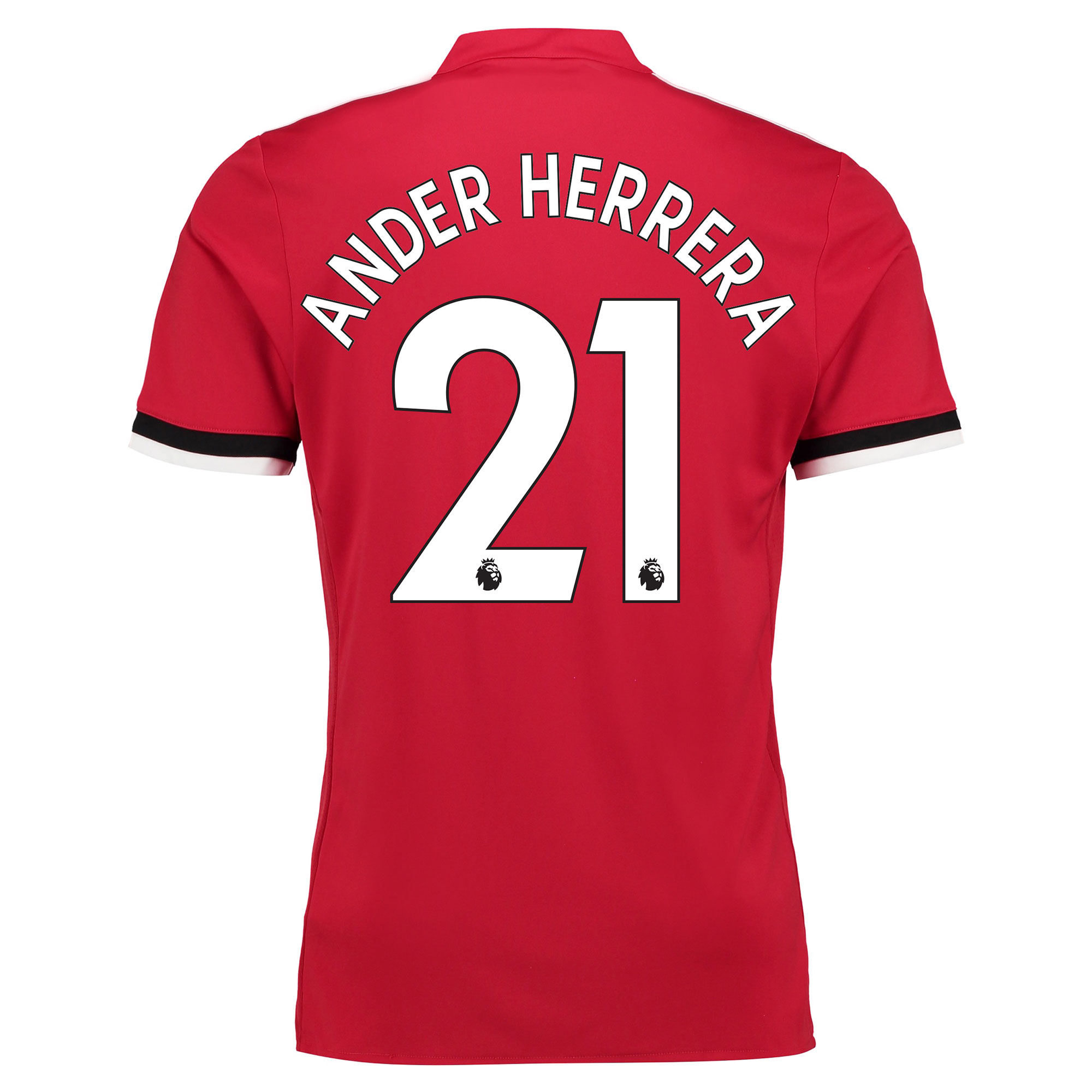 Manchester United Home Shirt 2017-18 - Kids with Ander Herrera 21 prin
