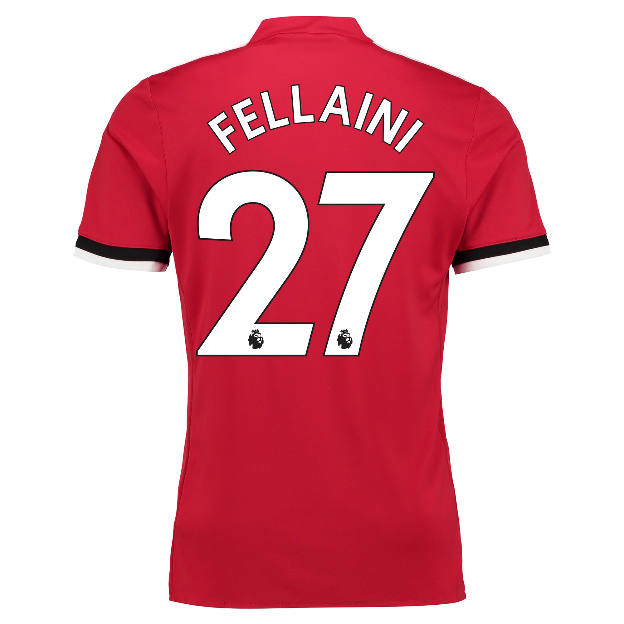 Manchester United Home Shirt 2017-18 - Kids with Fellaini 27 printing
