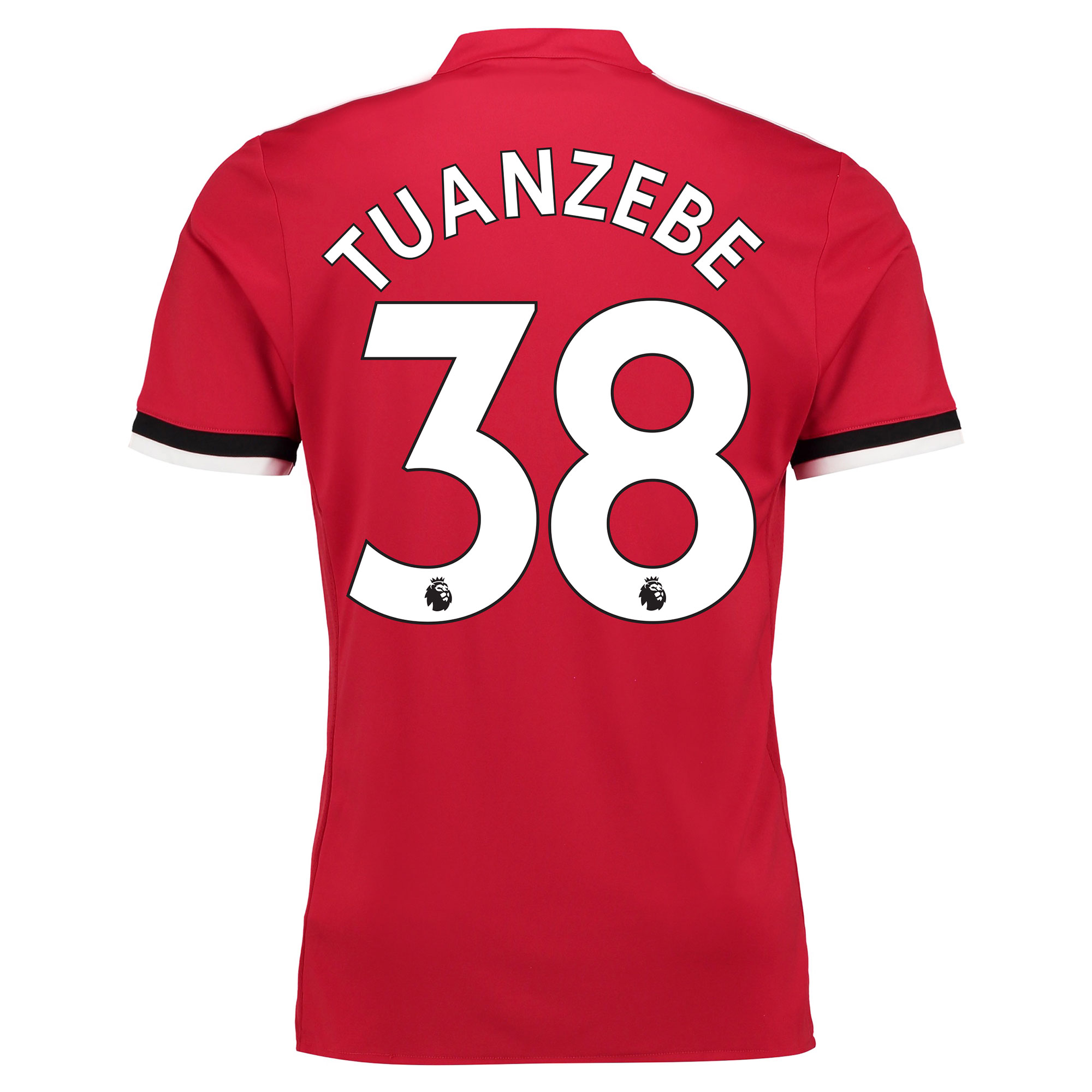 Manchester United Home Shirt 2017-18 - Kids with Tuanzebe 38 printing