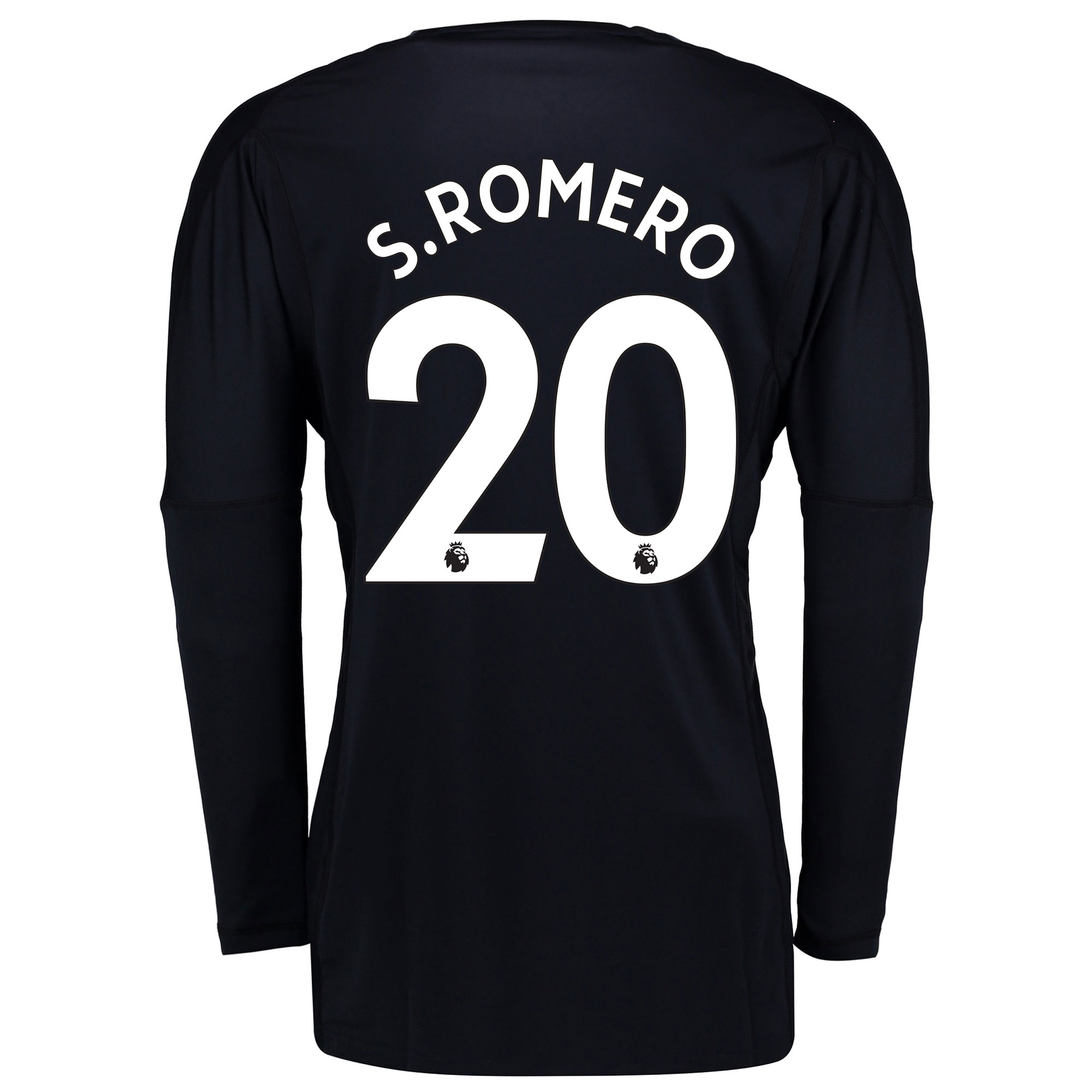 Manchester United Home Goalkeeper Shirt 2017-18 - Kids with S.Romero 2