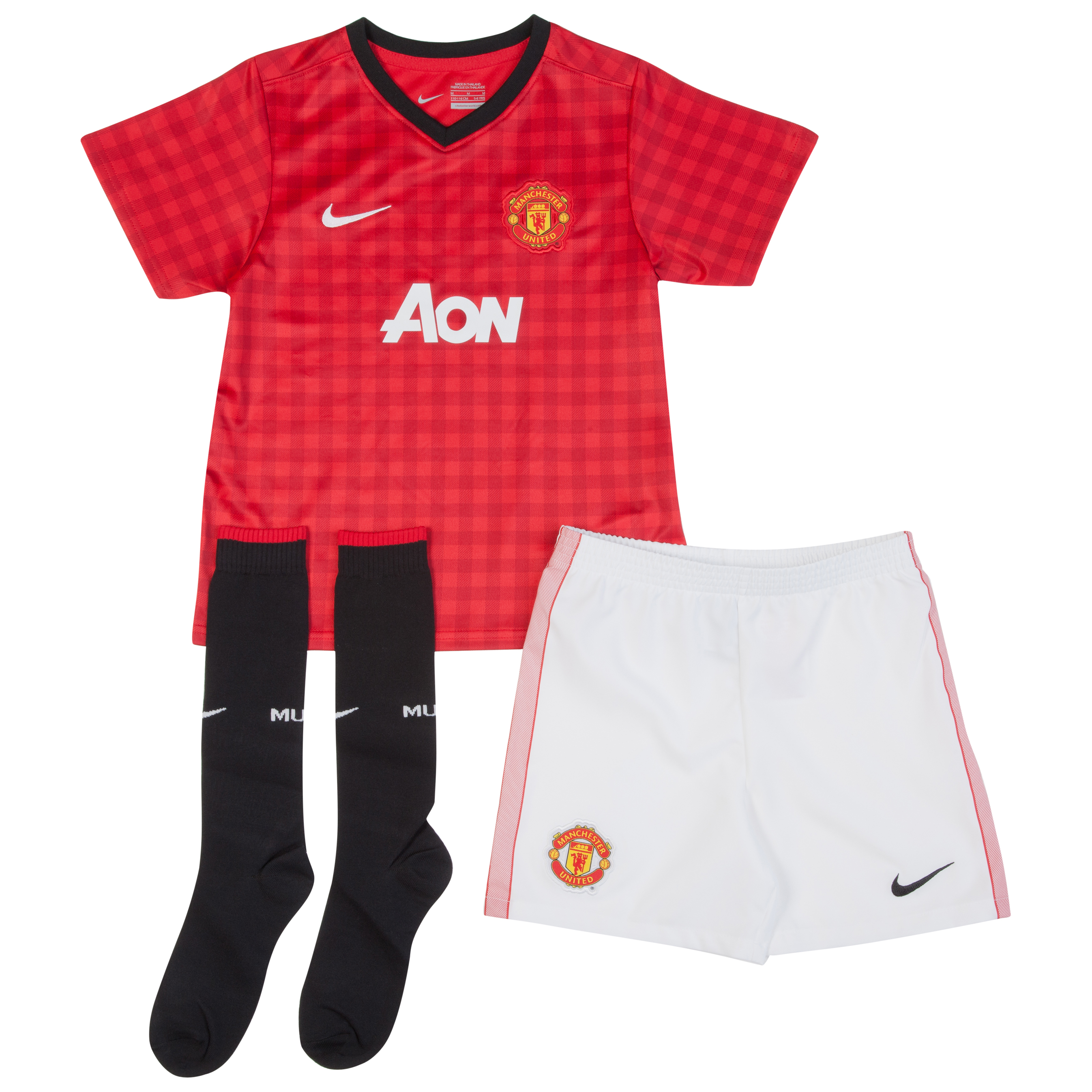 Manchester United Home Kit 2012/13 -  Little Boys
