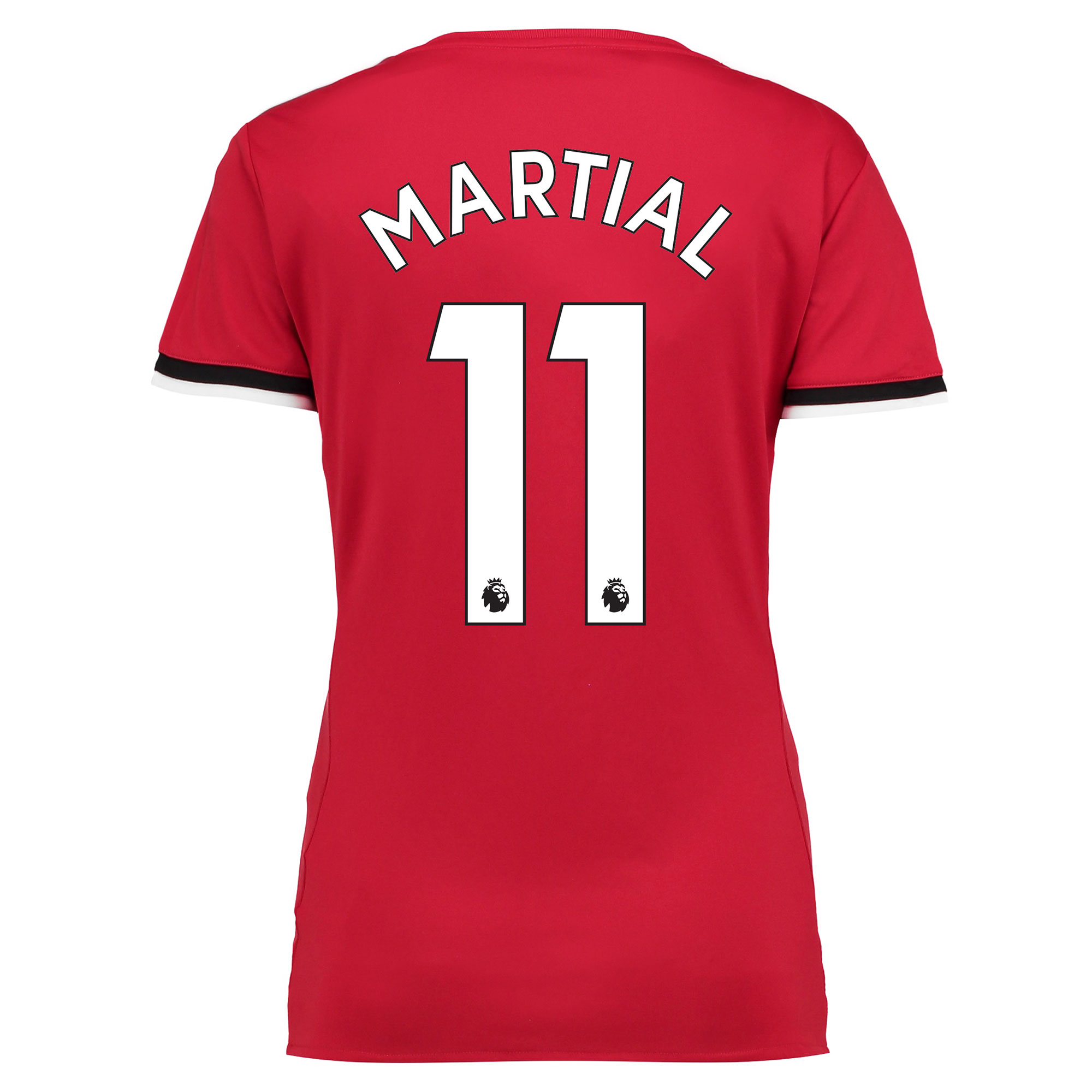Manchester United Home Shirt 2017-18 - Womens with Martial 11 printing