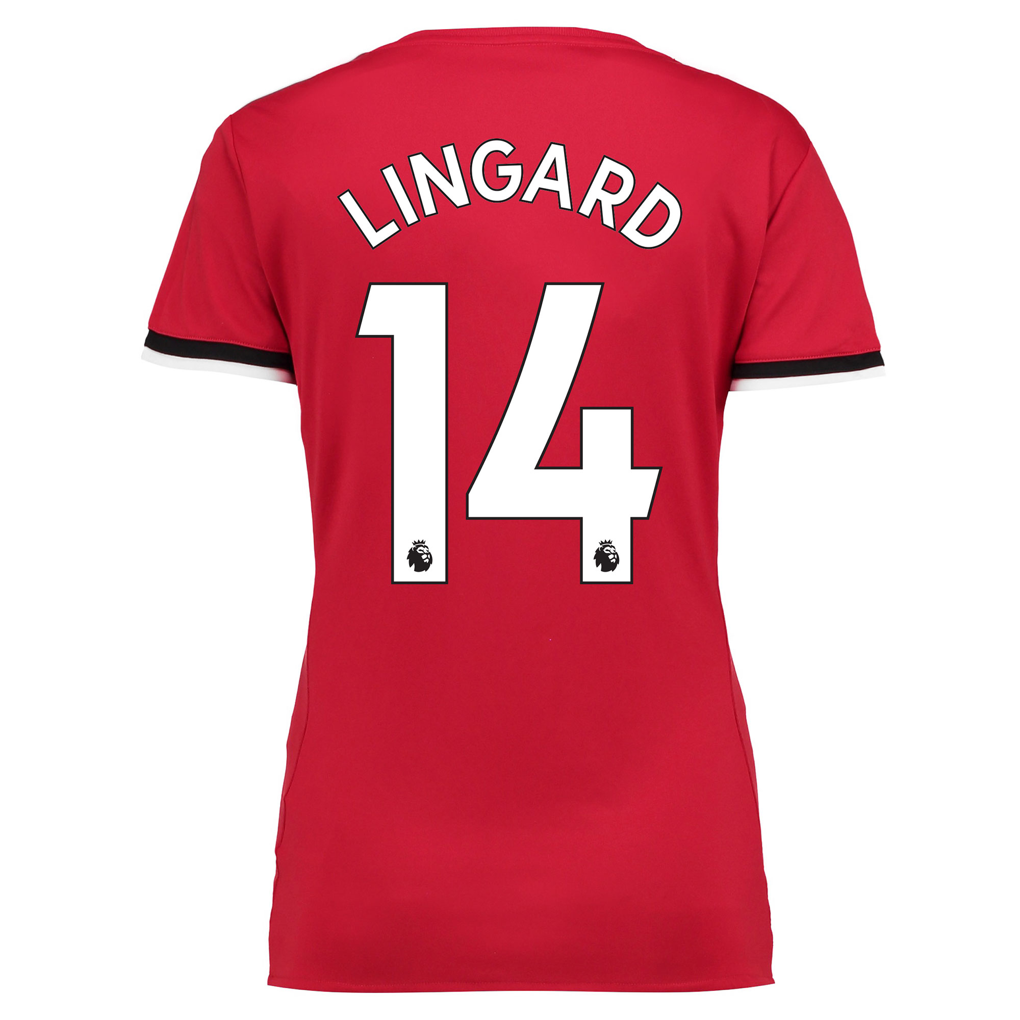Manchester United Home Shirt 2017-18 - Womens with Lingard 14 printing