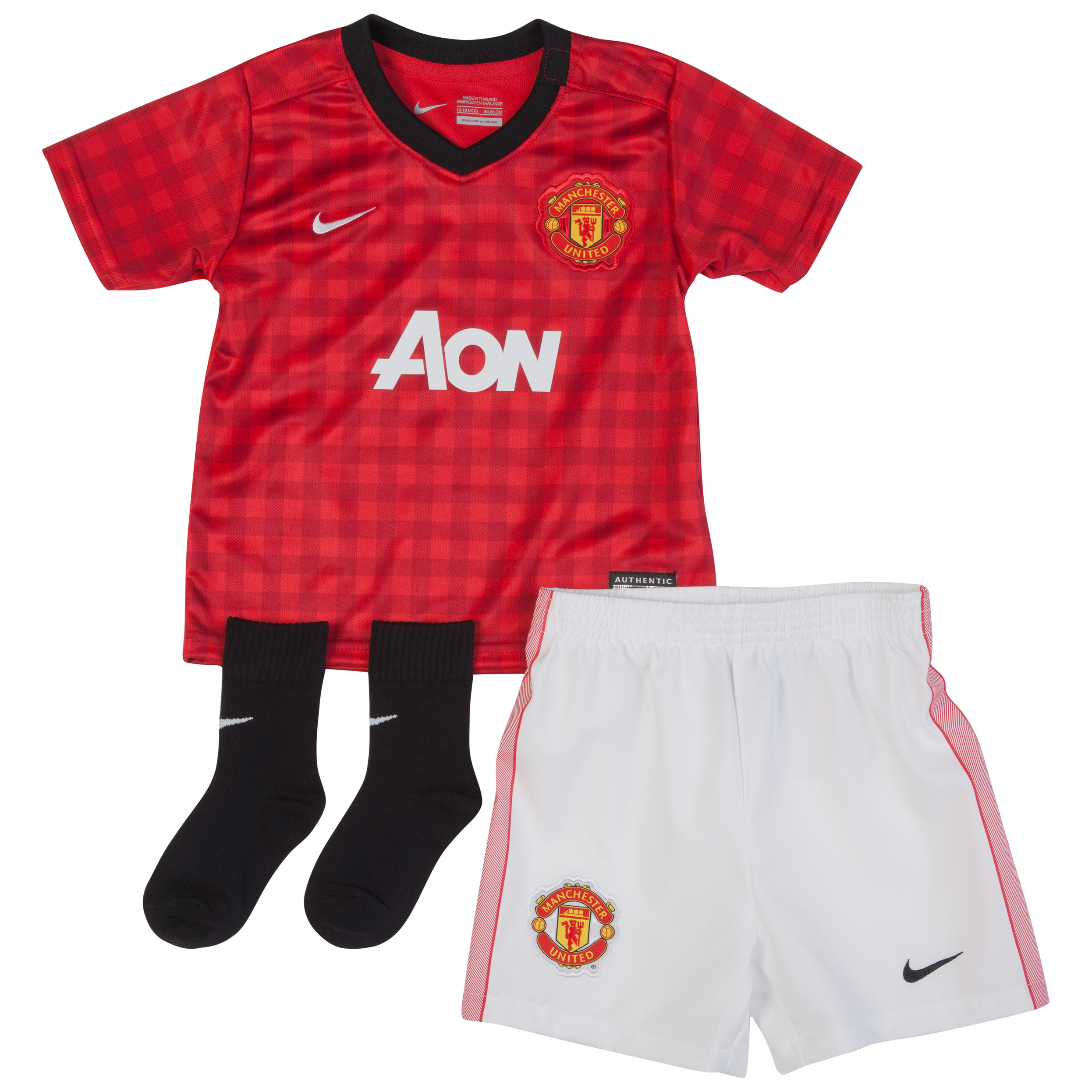 Manchester United Home Kit 2012/13 Infants