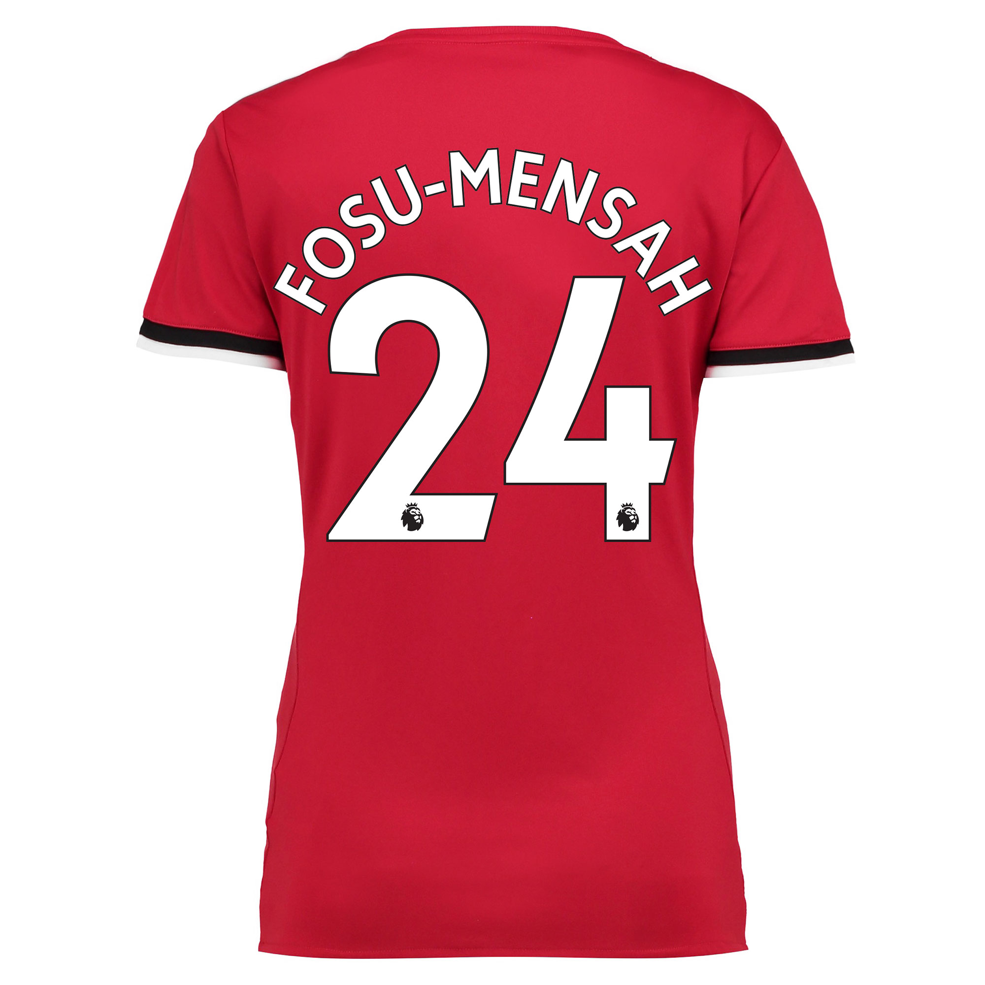 Manchester United Home Shirt 2017-18 - Womens with Fosu-Mensah 24 prin
