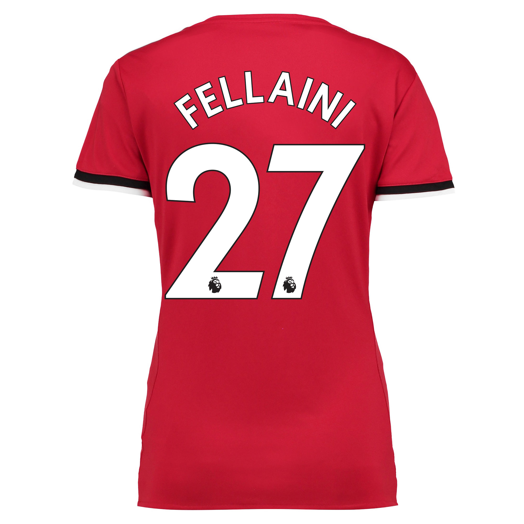 Manchester United Home Shirt 2017-18 - Womens with Fellaini 27 printin
