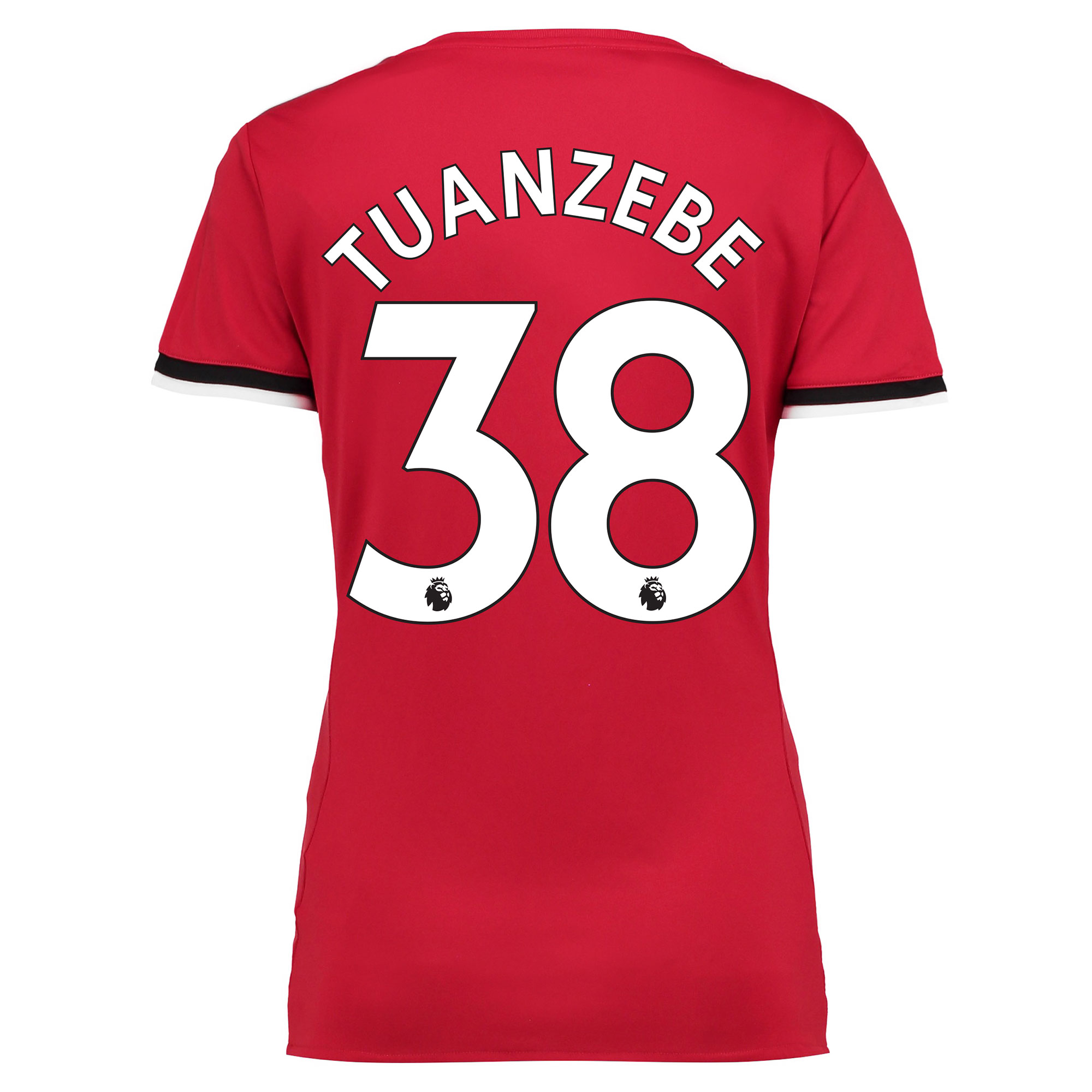 Manchester United Home Shirt 2017-18 - Womens with Tuanzebe 38 printin
