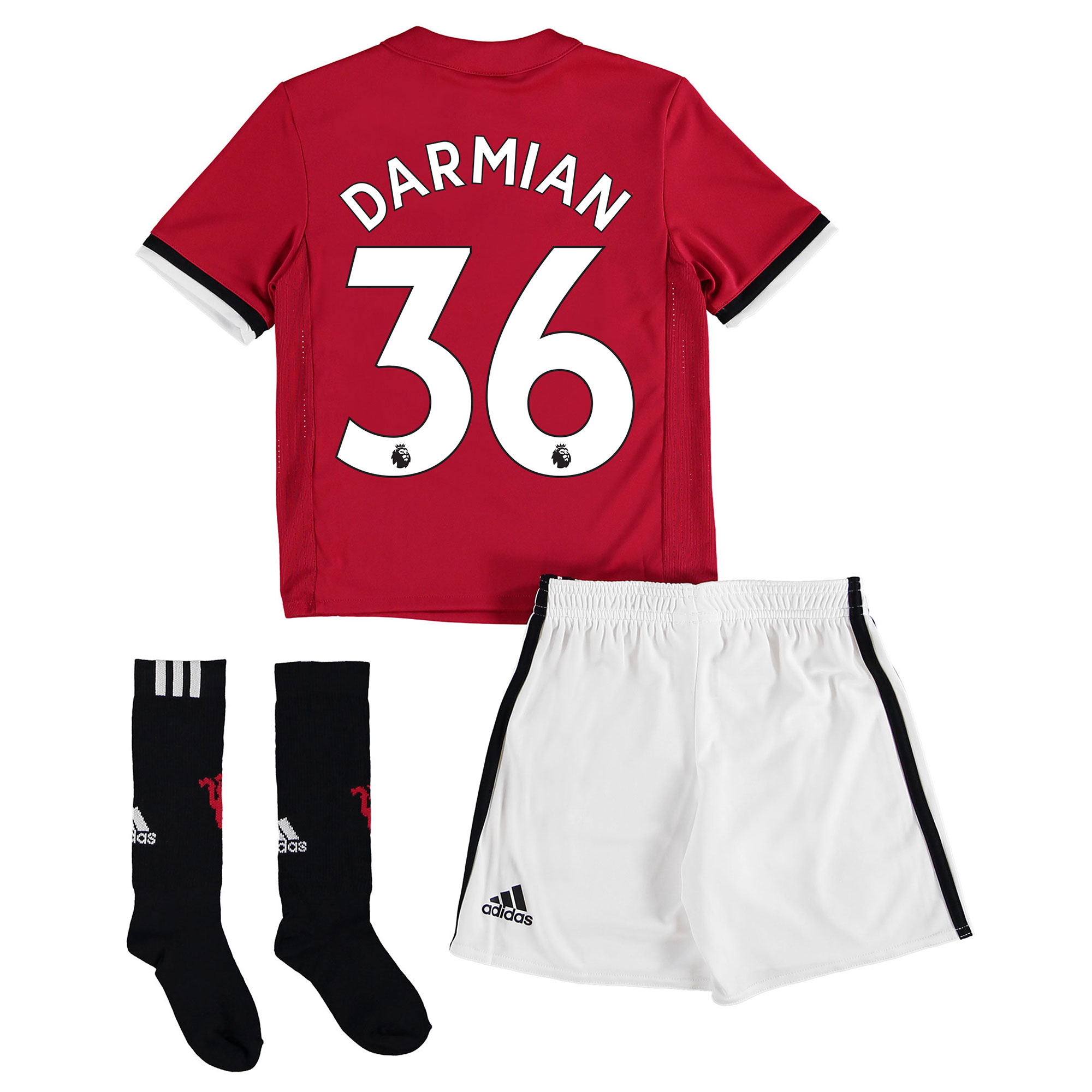 Manchester United Home Mini Kit 2017-18 with Darmian 36 printing