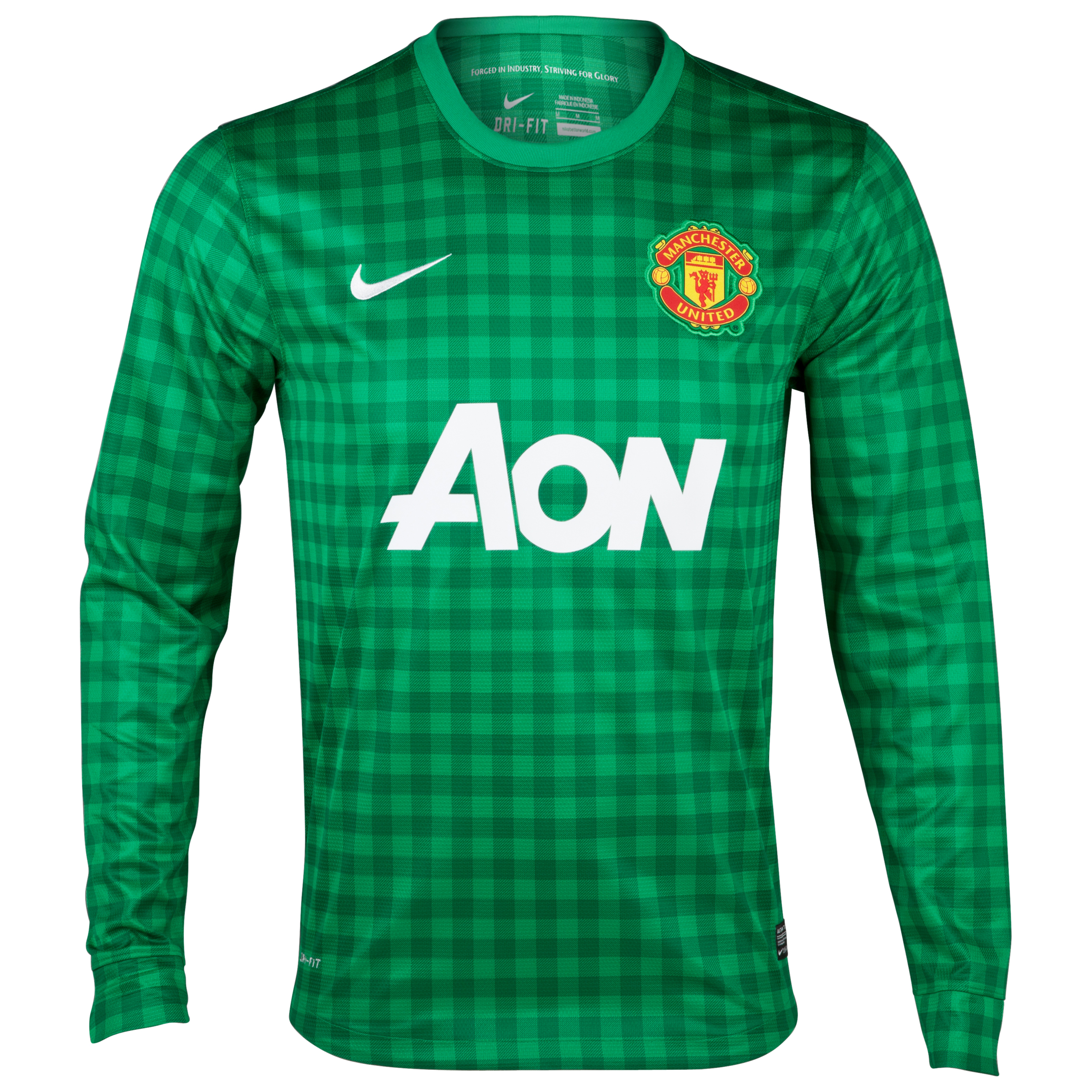 Manchester United Home Goalkeeper Shirt 2012/13 - Youths
