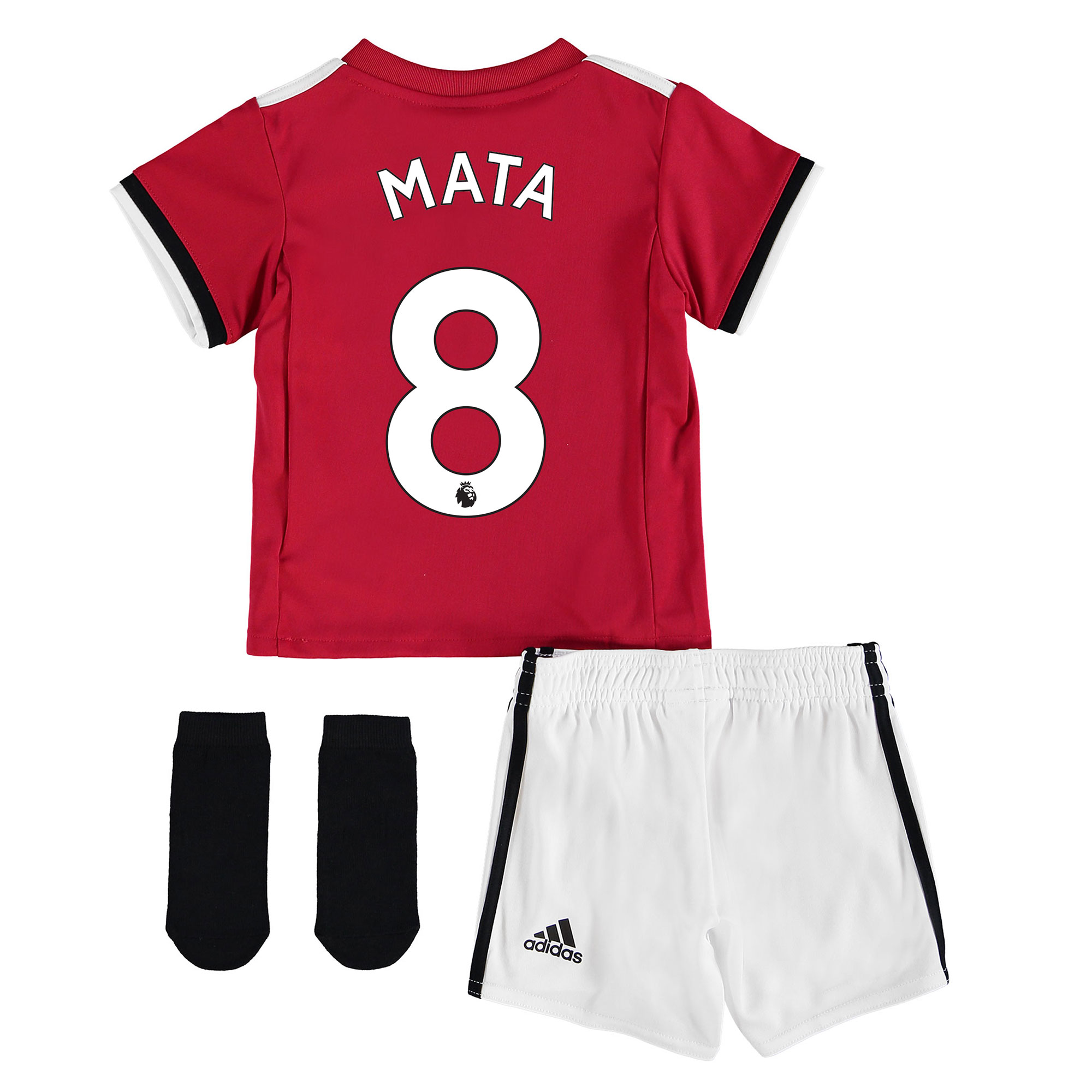 Manchester United Home Baby Kit 2017-18 with Mata 8 printing