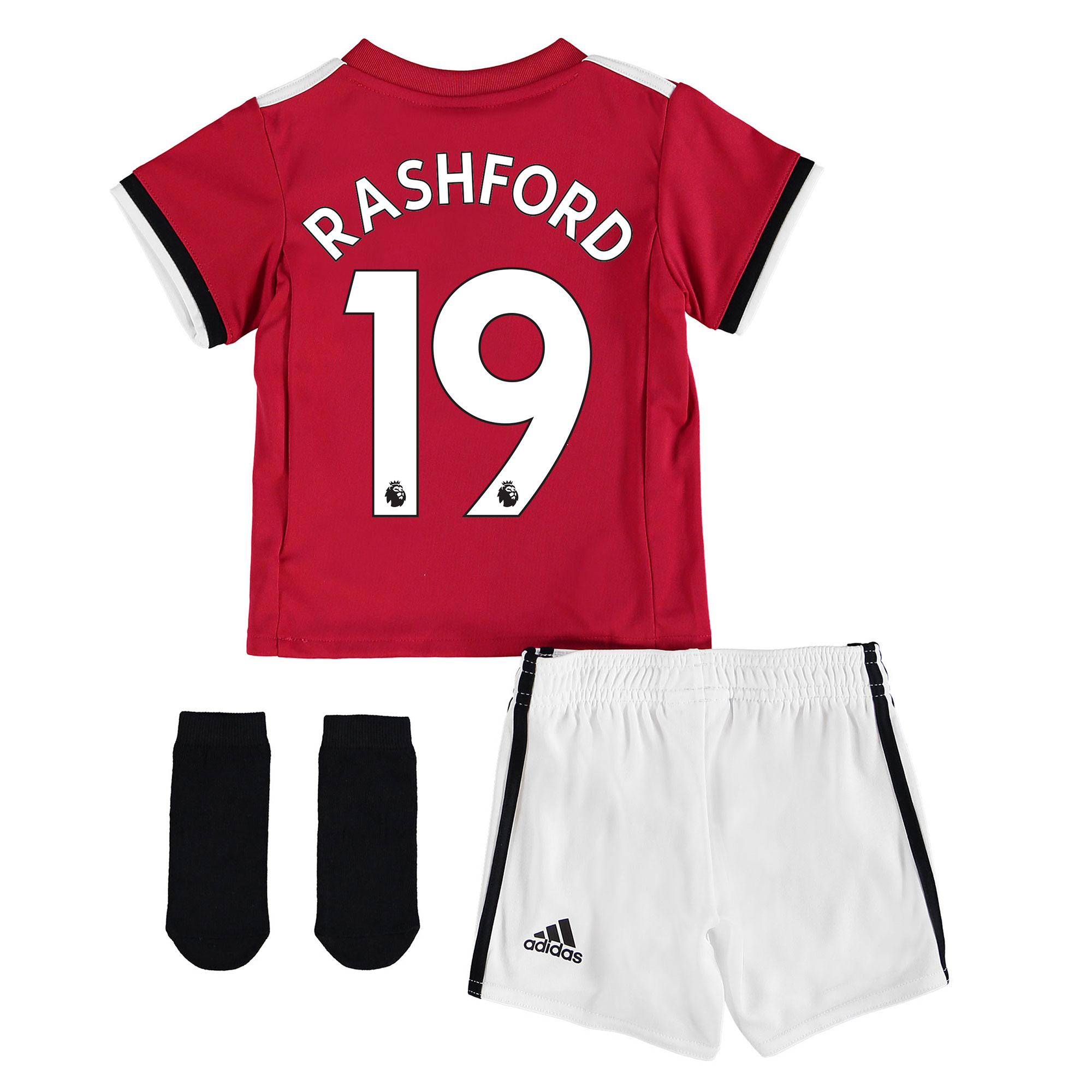 Manchester United Home Baby Kit 2017-18 with Rashford 19 printing