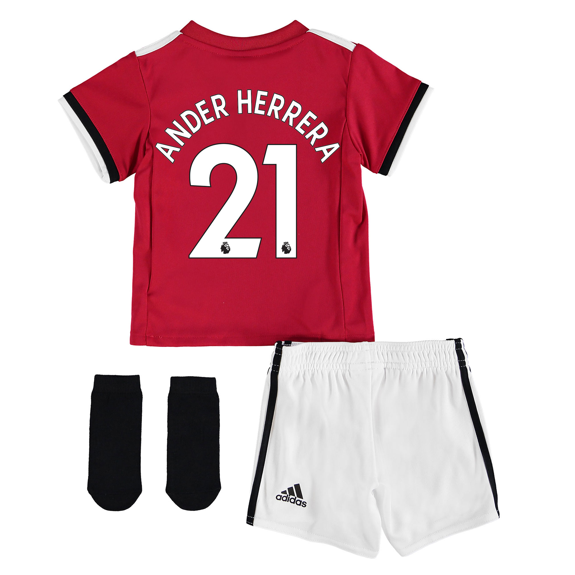 Manchester United Home Baby Kit 2017-18 with Ander Herrera 21 printing