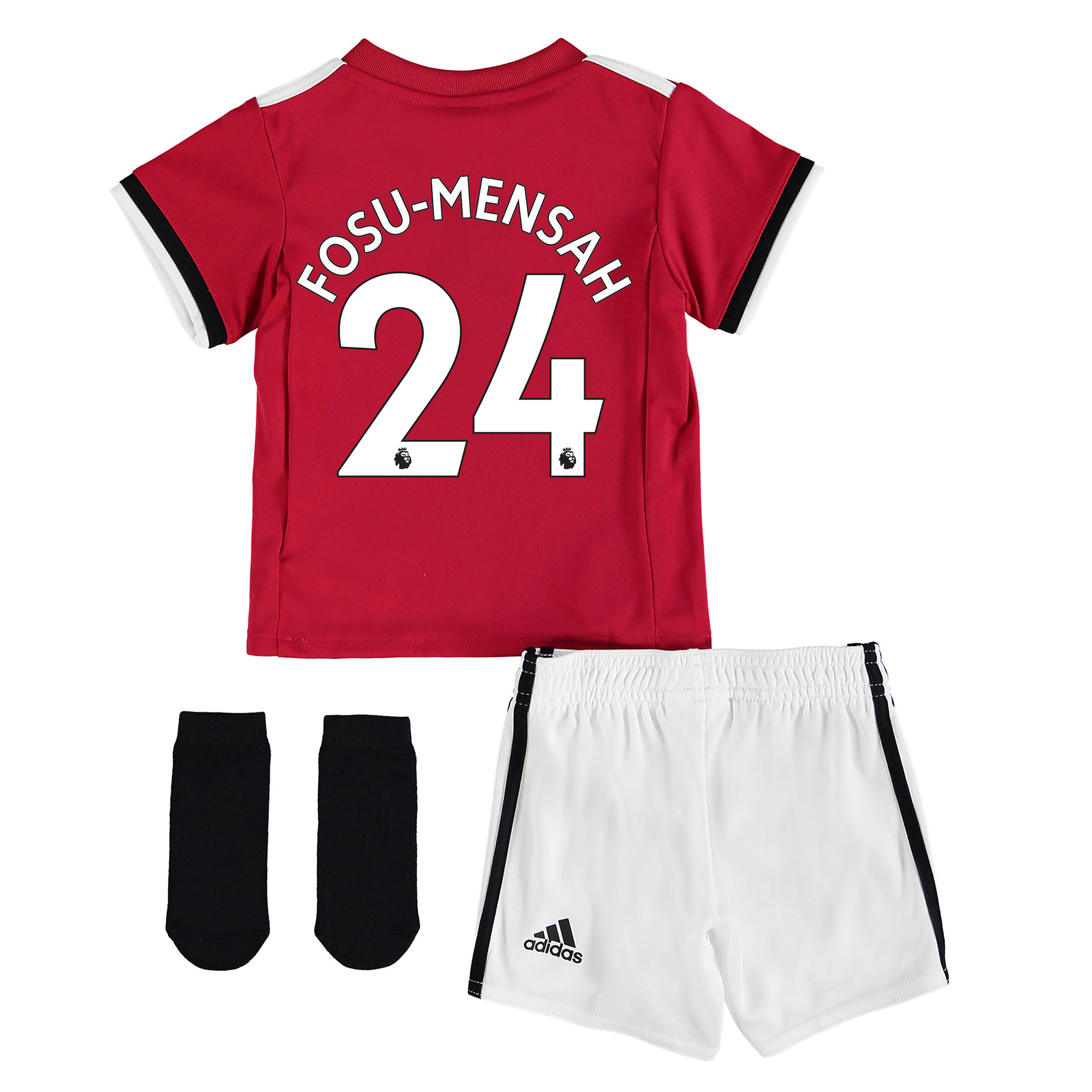 Manchester United Home Baby Kit 2017-18 with Fosu-Mensah 24 printing