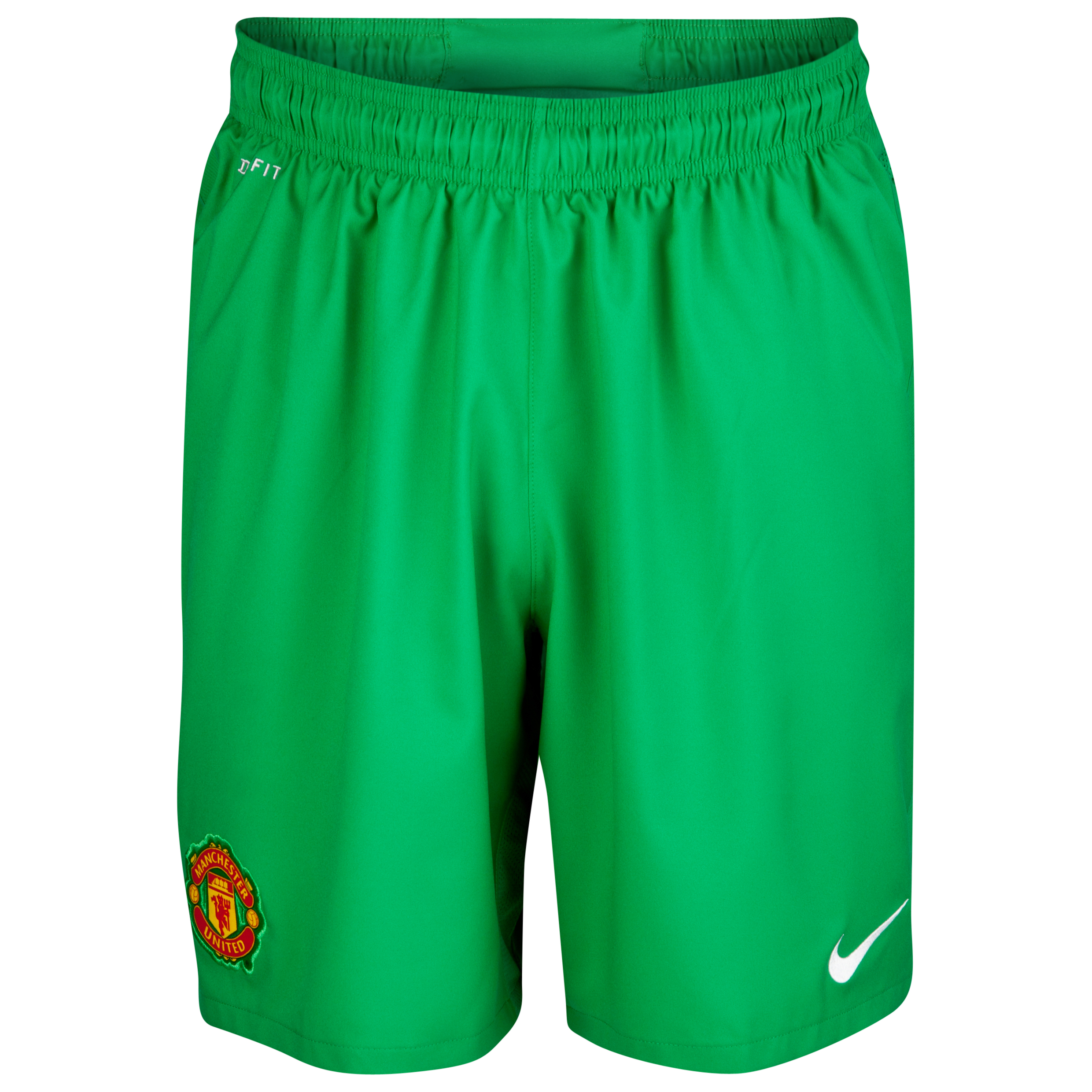 Manchester United Home Goalkeeper Shorts 2012/13 - Kids