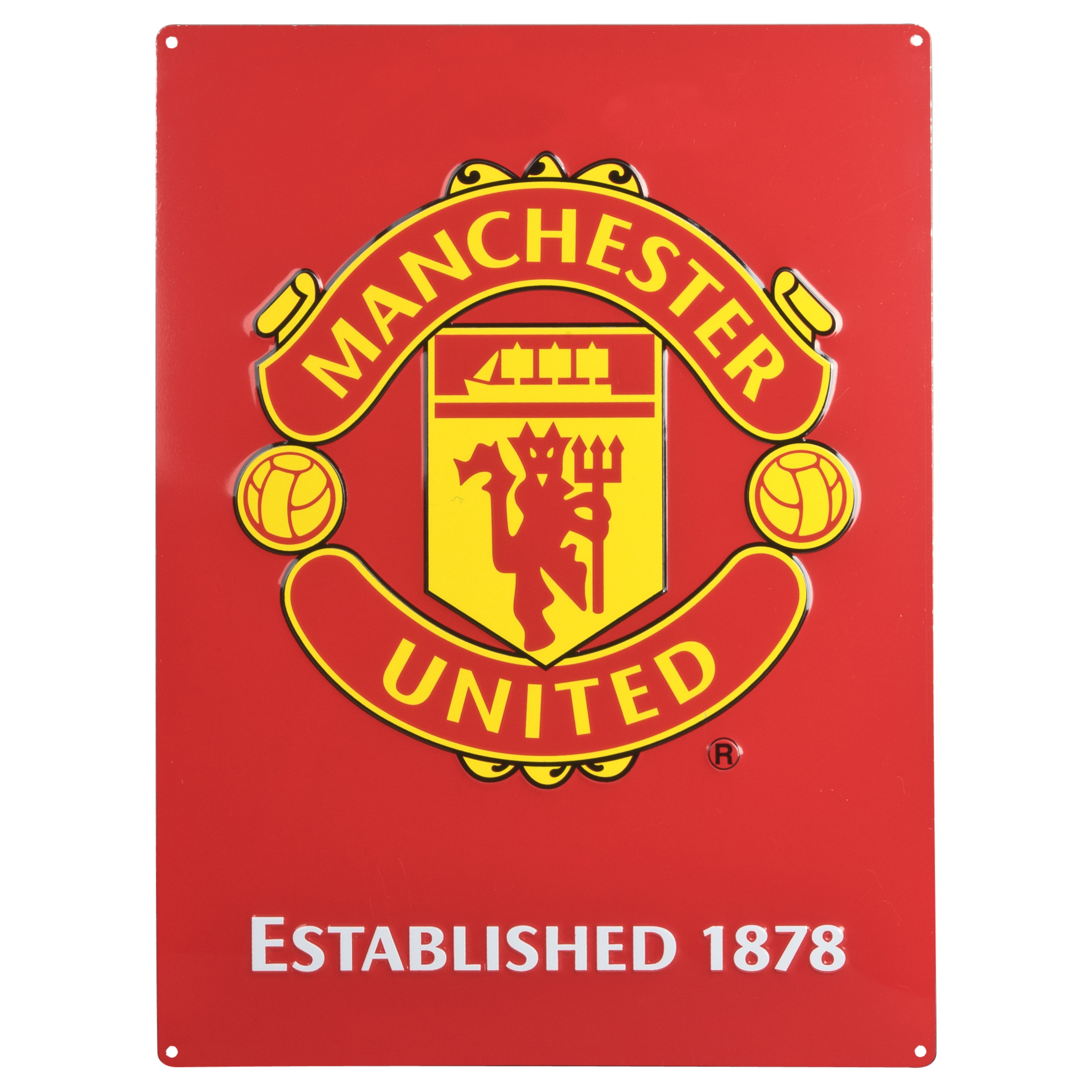 Manchester United Large Logo Sign