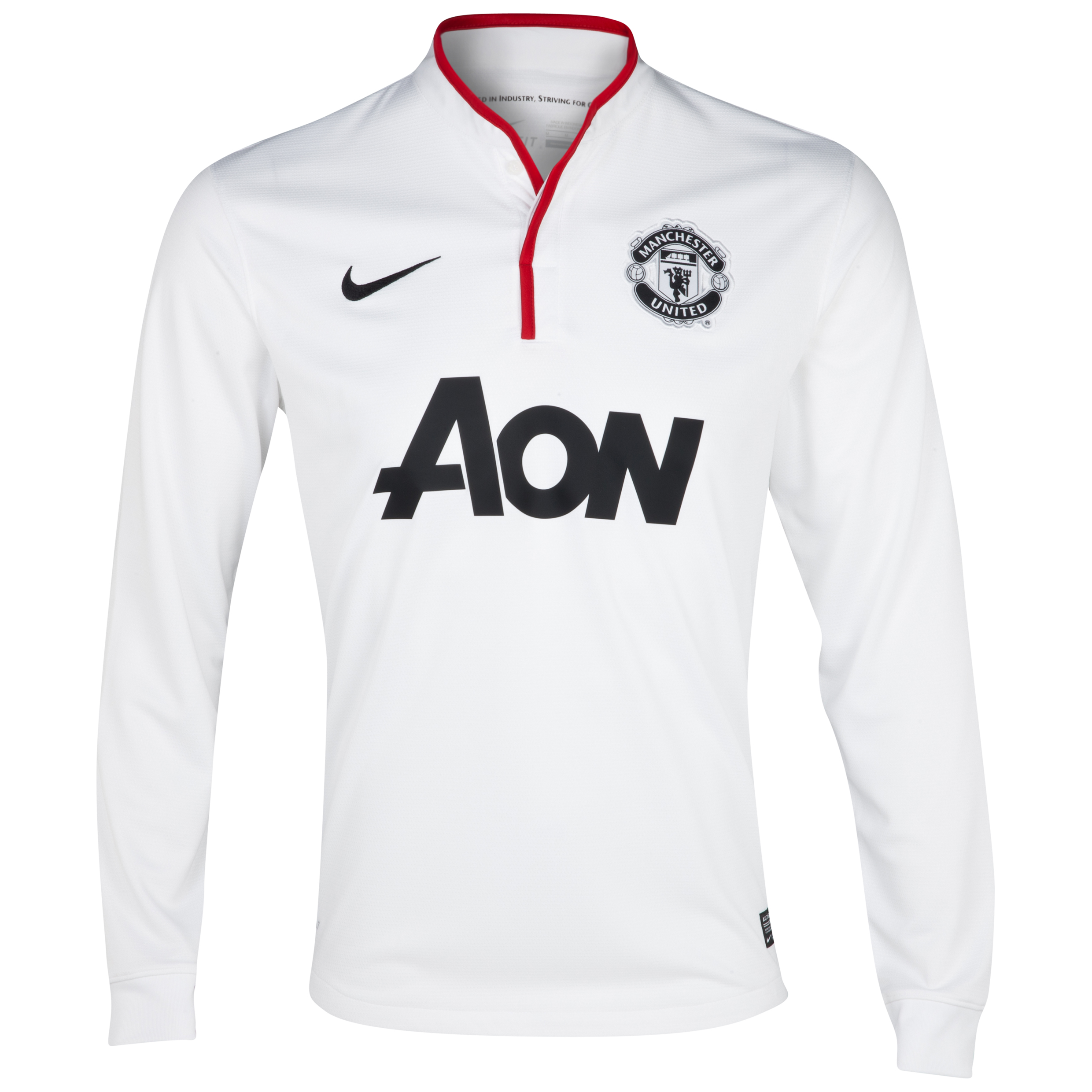 Manchester United Away Shirt 2012/13 - Long Sleeved - Kids
