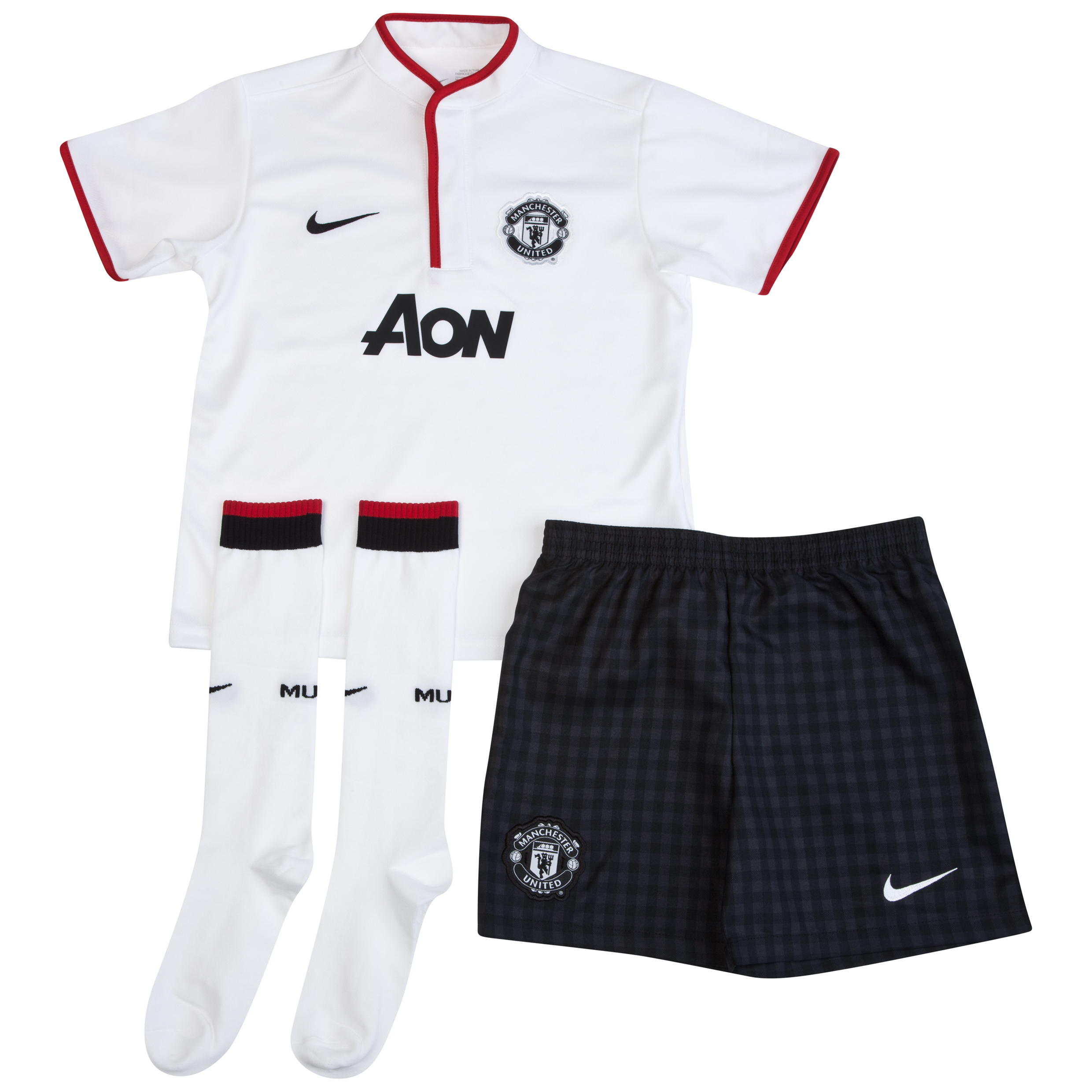 Manchester United Away Kit 2012/13 Little Boys