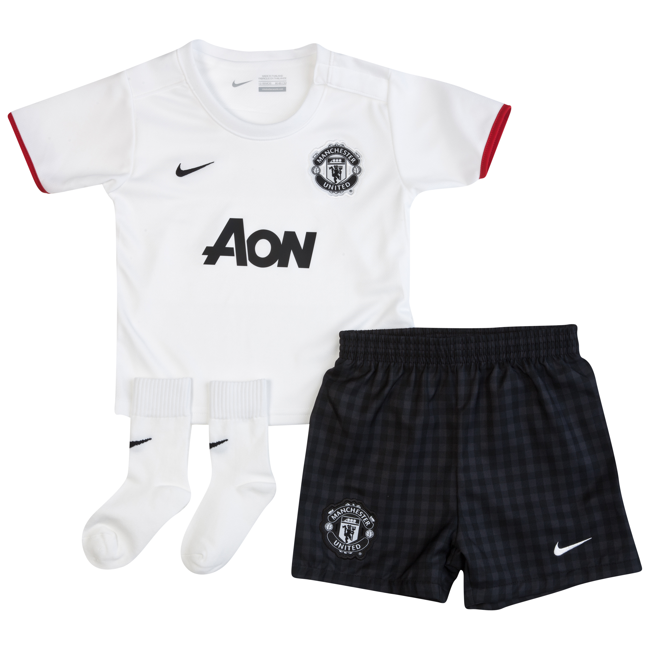 Manchester United Away Kit 2012/13 Infants