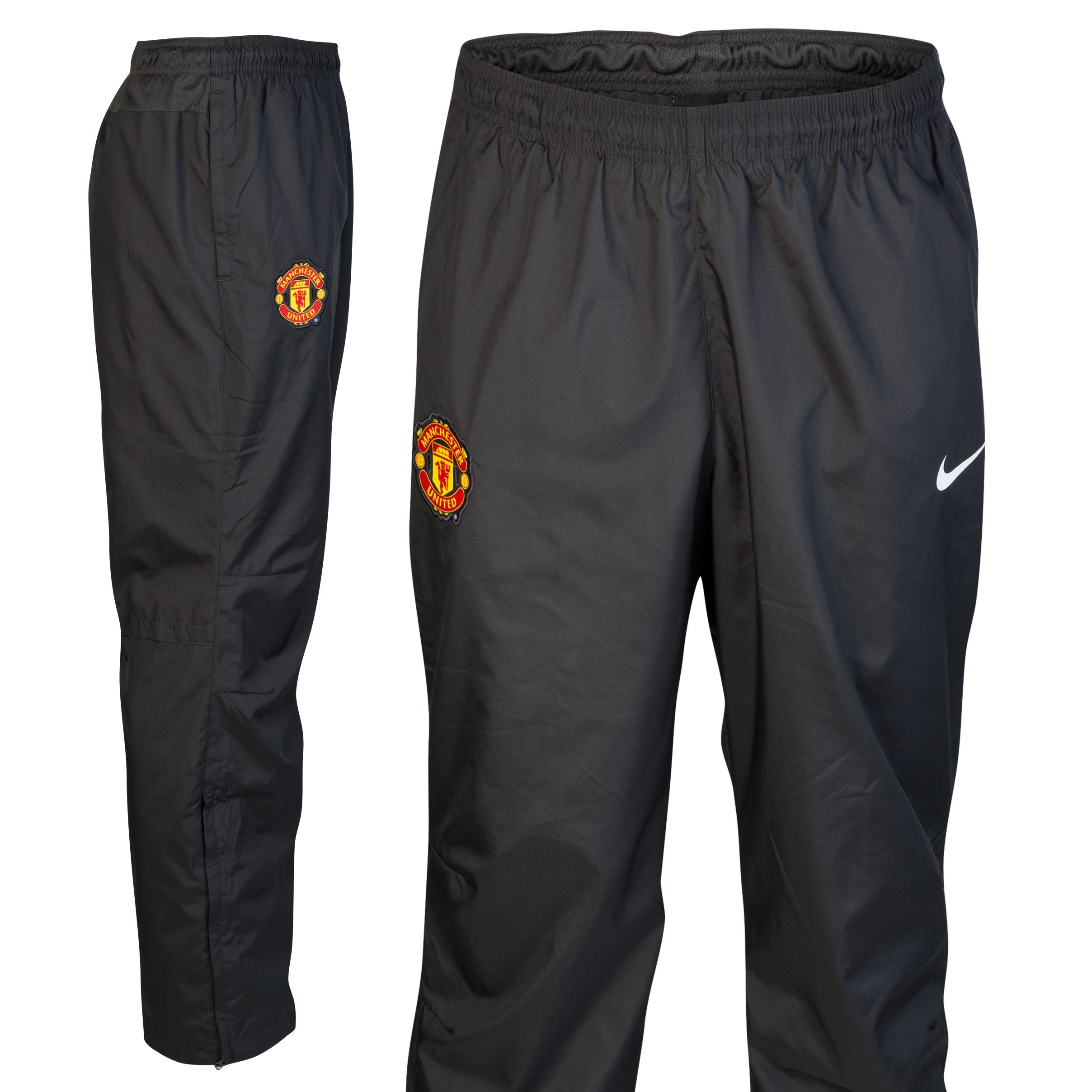 Manchester United Woven Sideline Pant - Anthracite/White