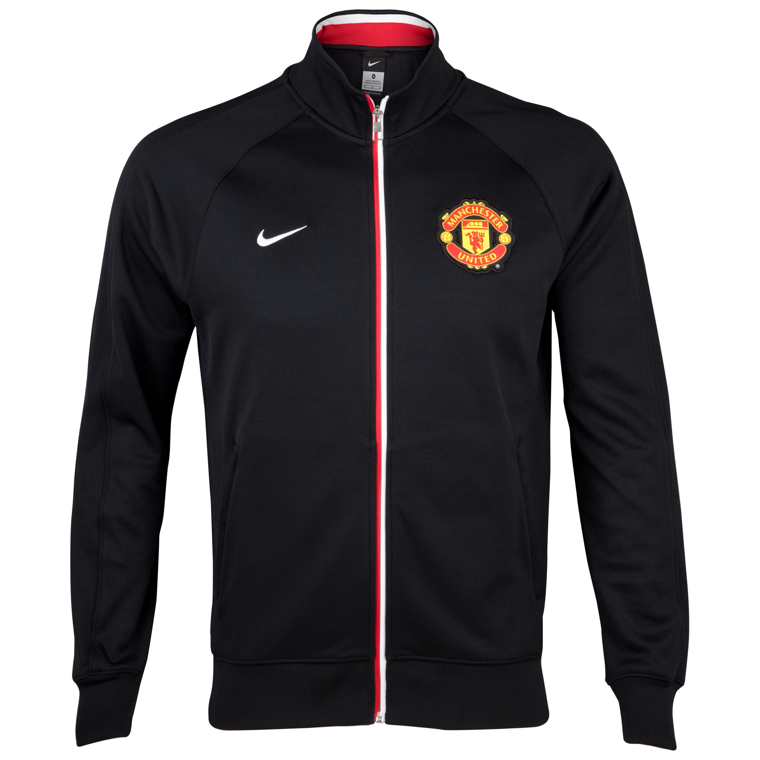 Manchester United Core Trainer Jacket - Black/Black/White