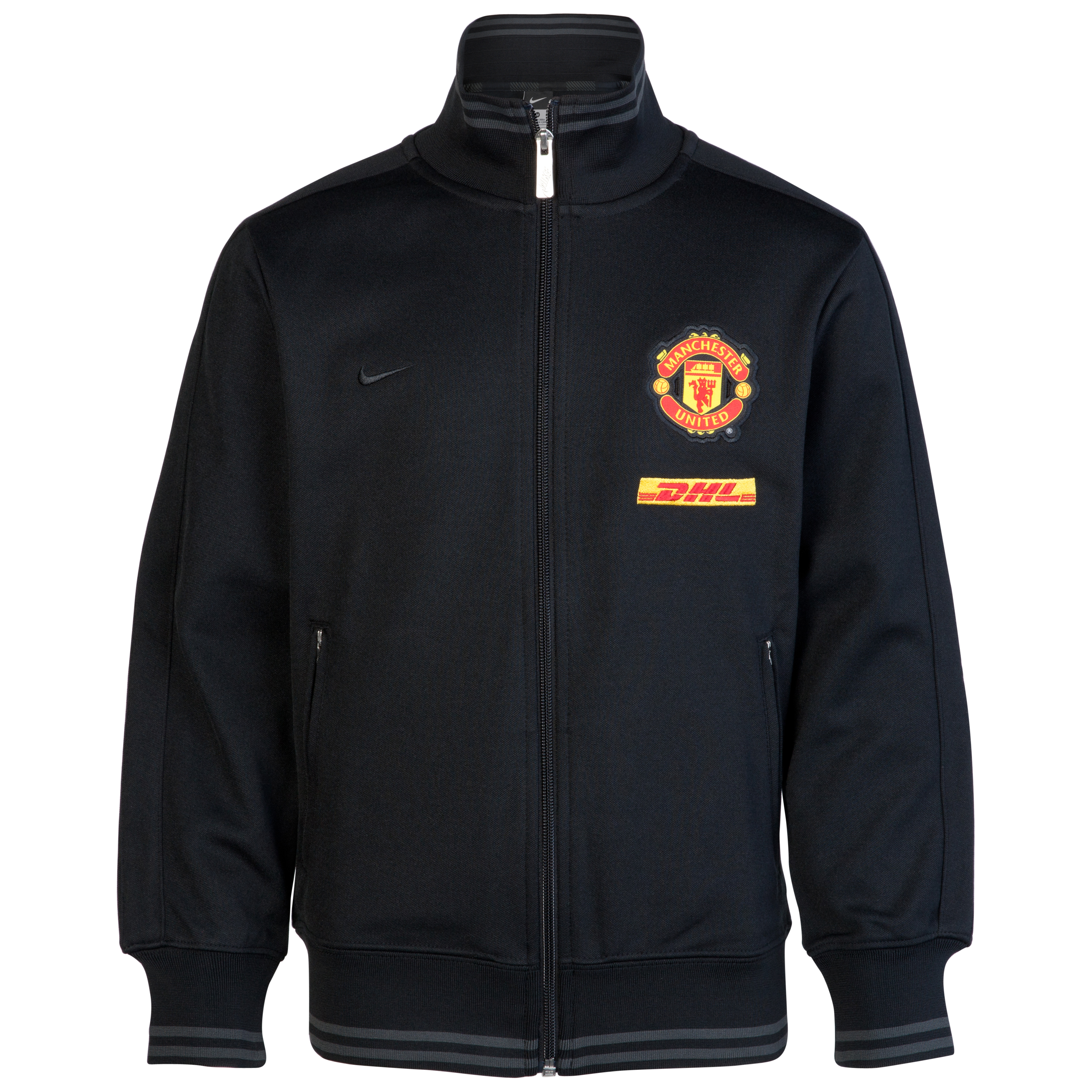 Manchester United Authentic N98 Jacket - Black/Anthracite/Black