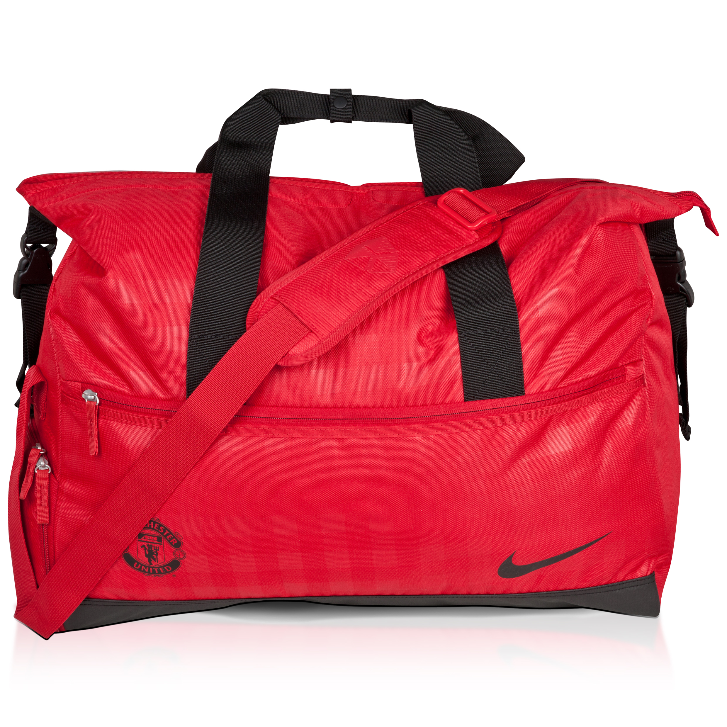 Manchester United Allegiance Duffle Bag - Varsity Red/Black