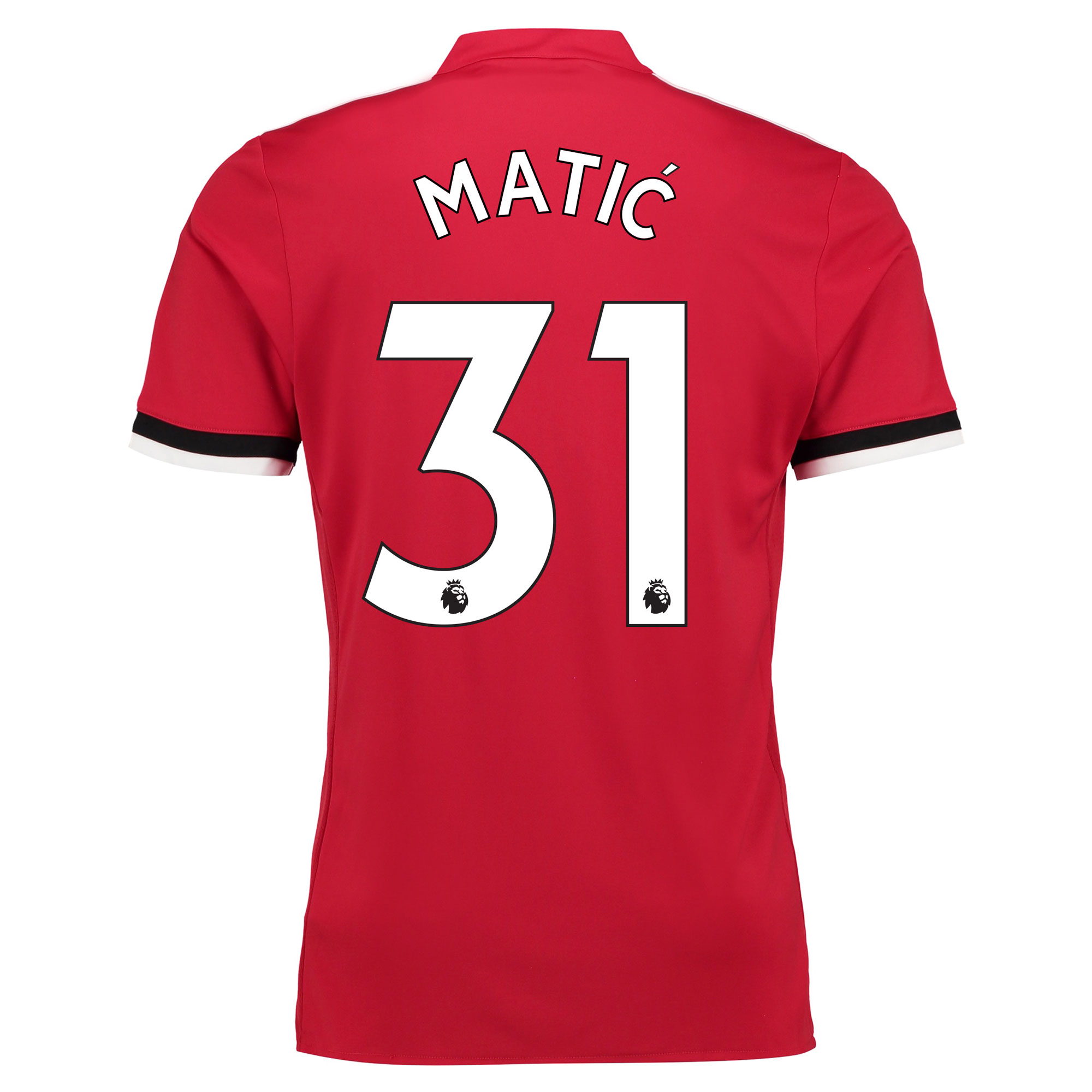 Manchester United Home Shirt 2017-18 Matic 31