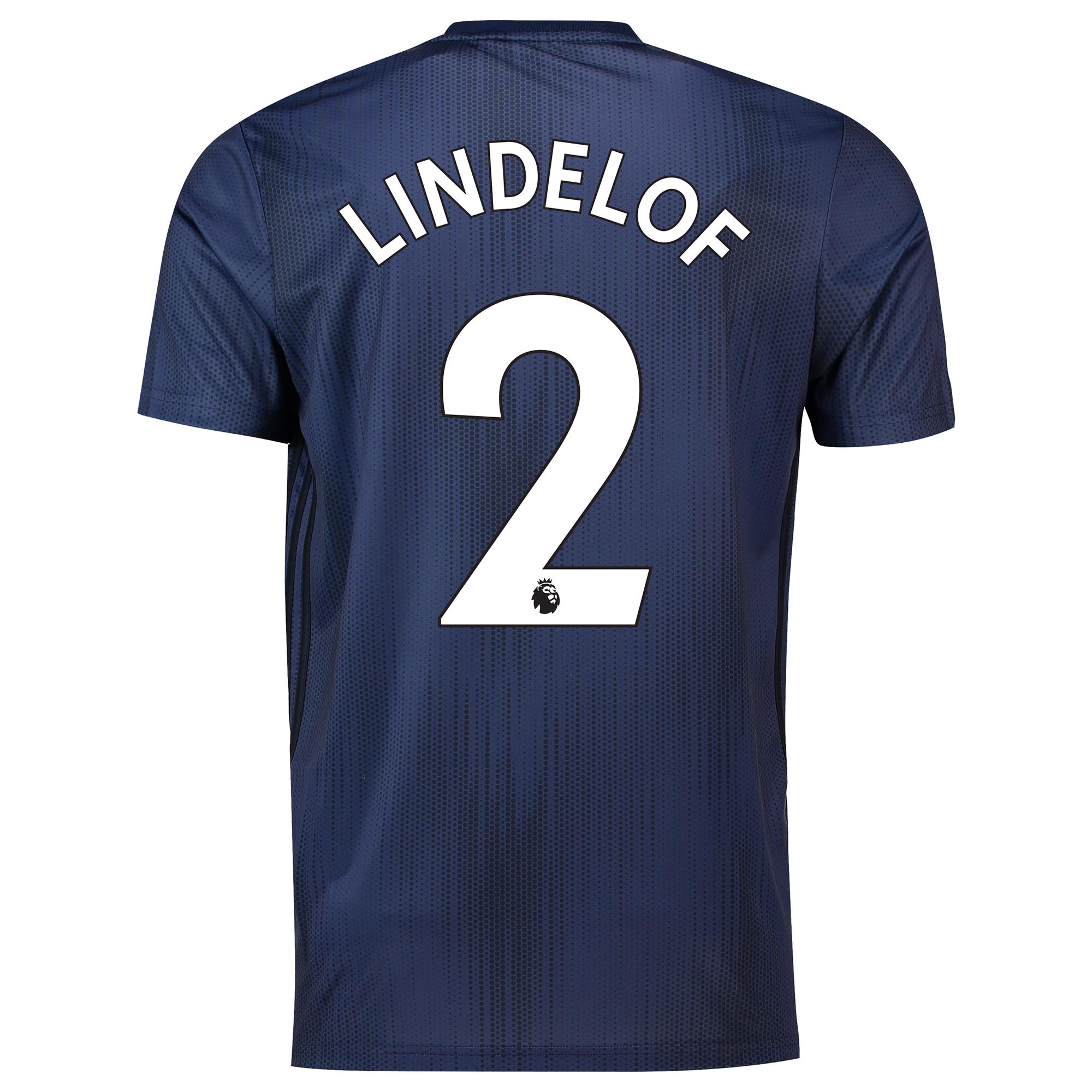 Camiseta de la tercera equipación del Manchester United 2018-19 dorsal Lindelof 2