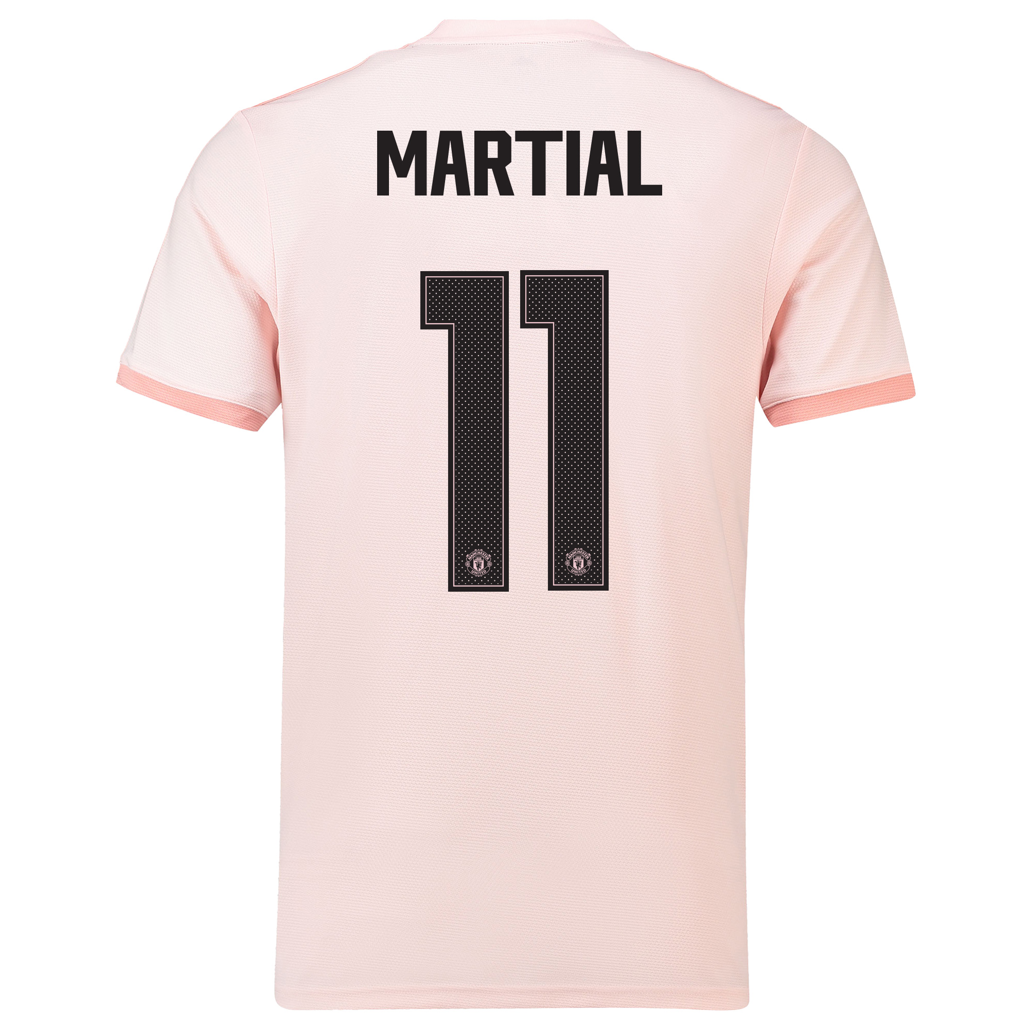 Manchester United Away Cup Shirt 2018-19 with Martial 11 printing