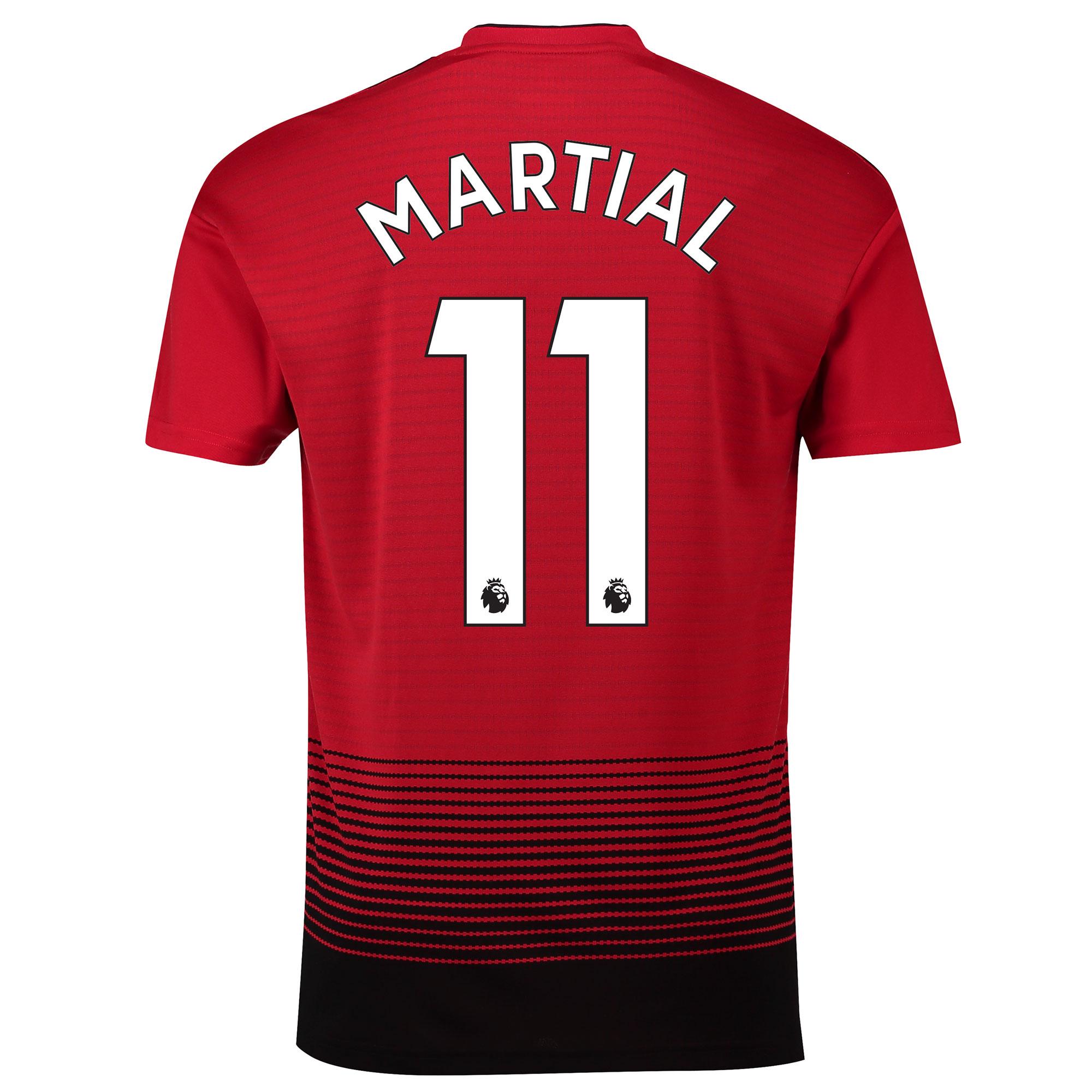 マンチェスター ユナイテッド ホーム シャツ 2018-19 - Martial 11