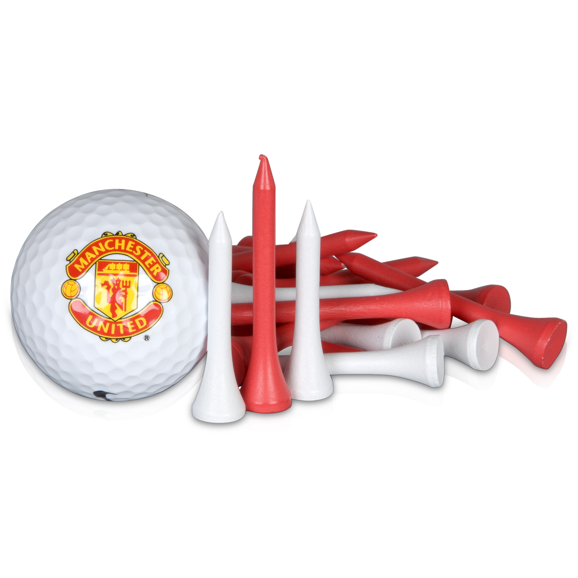 Manchester United Golf Gift Ball and Tee Set