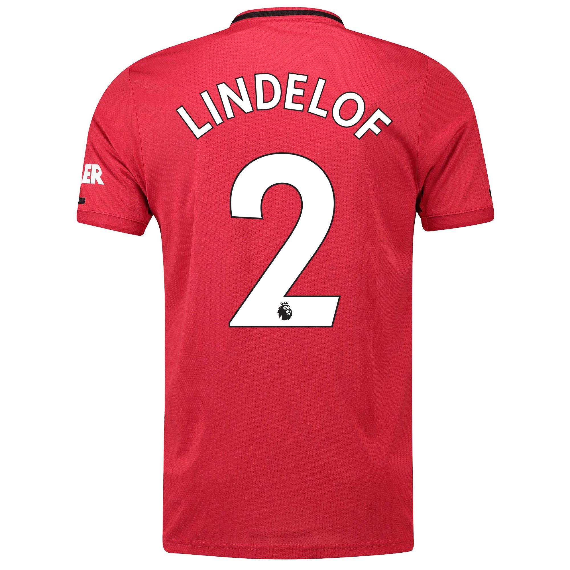 マンチェスター ユナイテッド ホーム シャツ 2019-20 - Lindelof 2