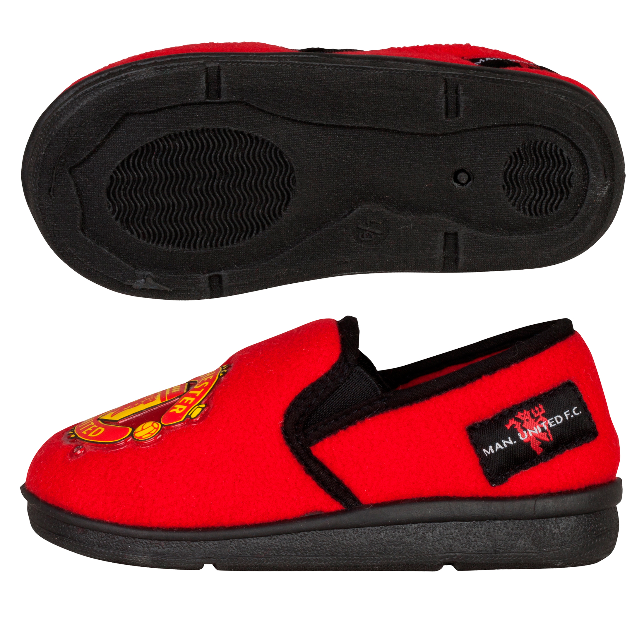 Manchester United New Heel Slipper - Red - Boys