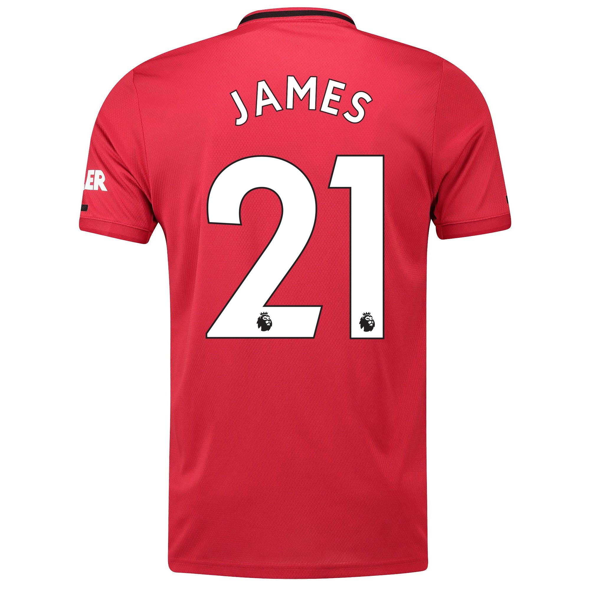マンチェスター ユナイテッド ホーム シャツ 2019-20 James 21