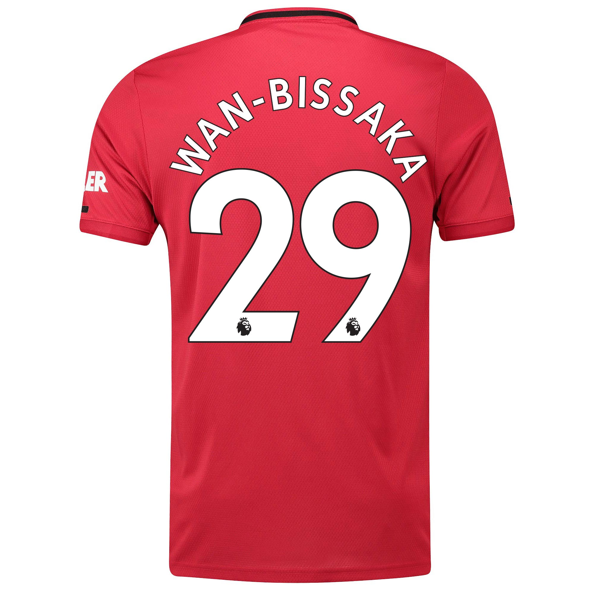 Manchester United Home Shirt 2019 - 20 with Wan-Bissaka