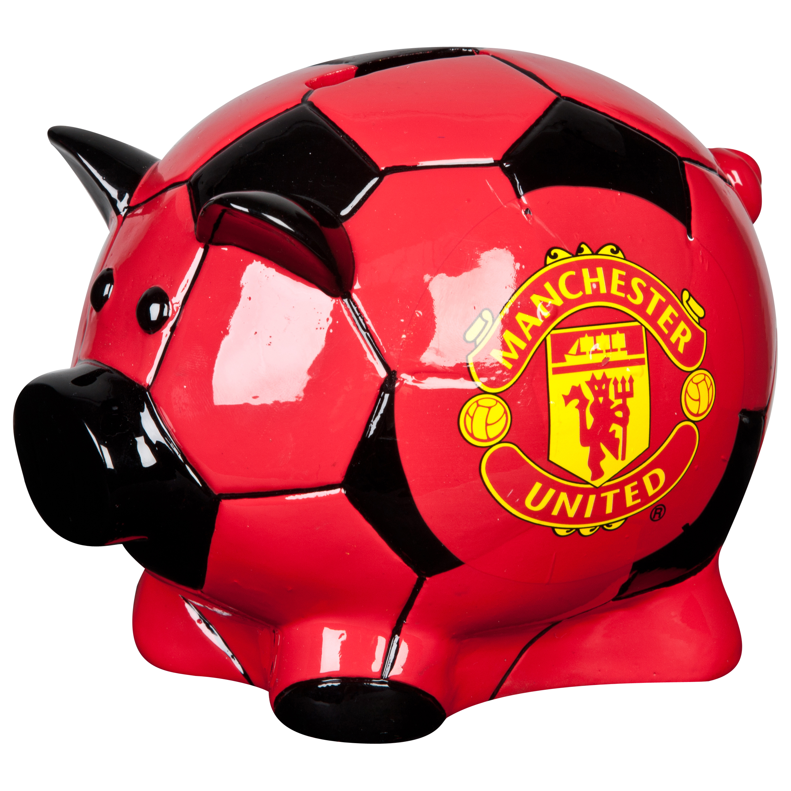 Manchester United Large Football Pig