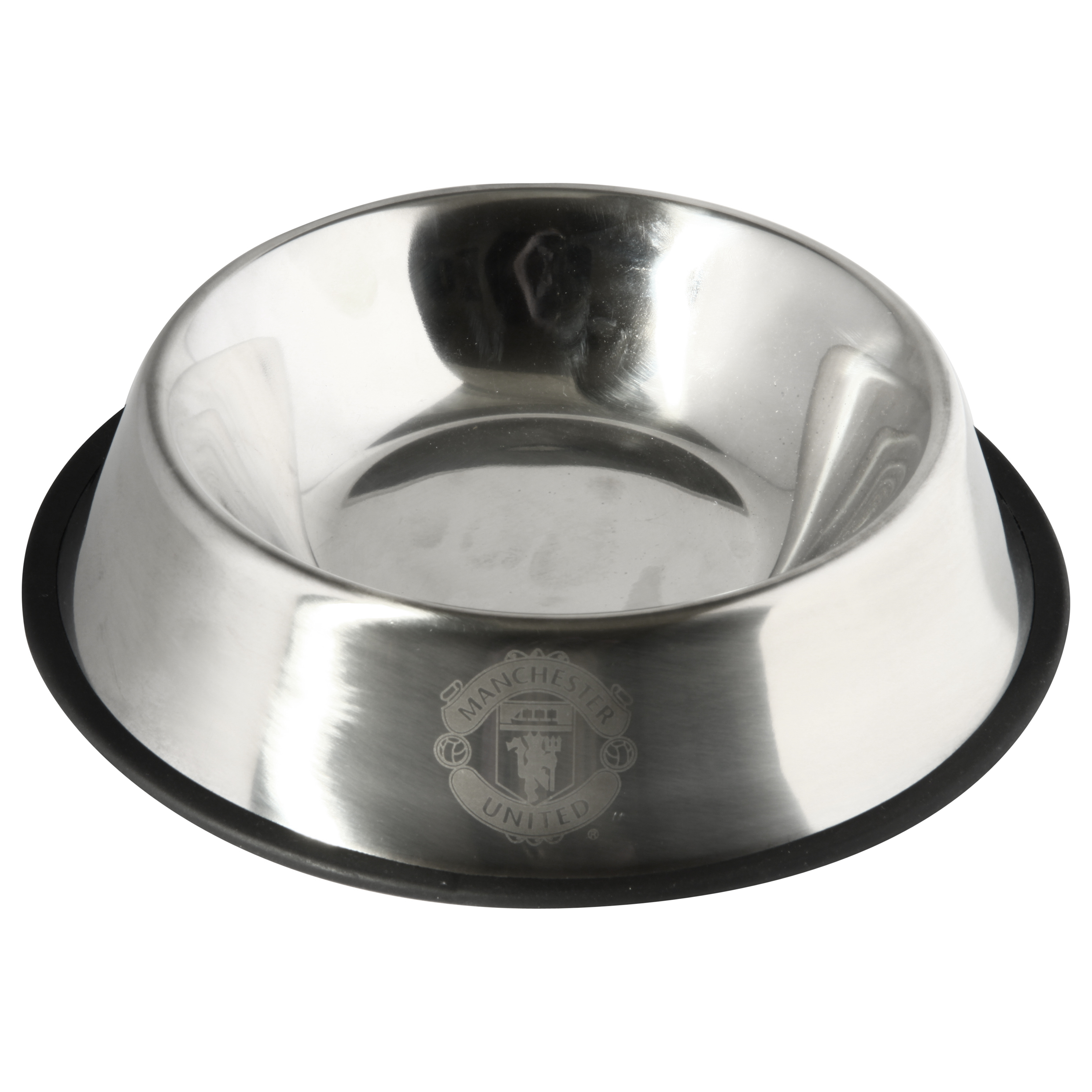 Manchester United Metal Dog Bowl