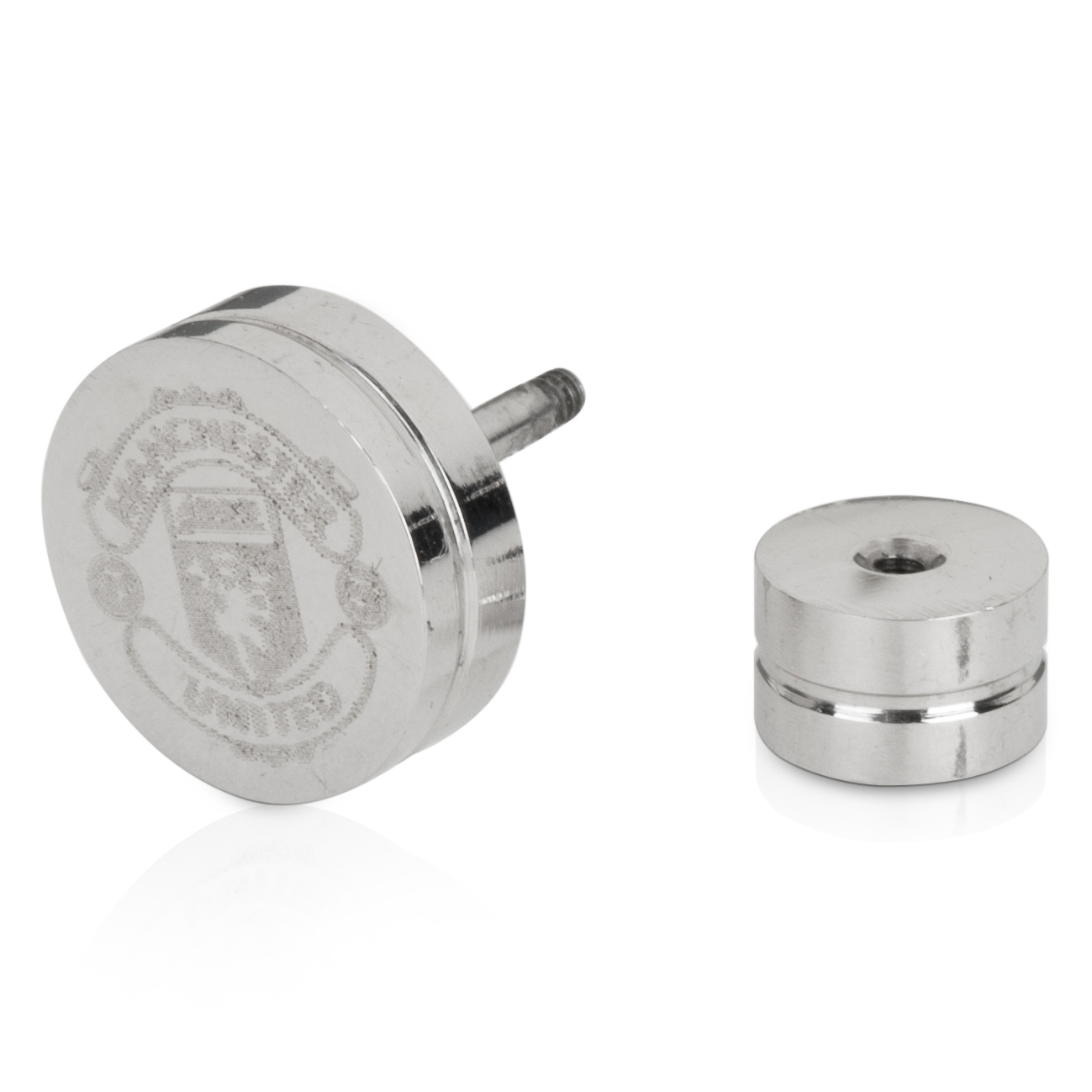 Manchester United Crest Earring Single - Stainless Steel