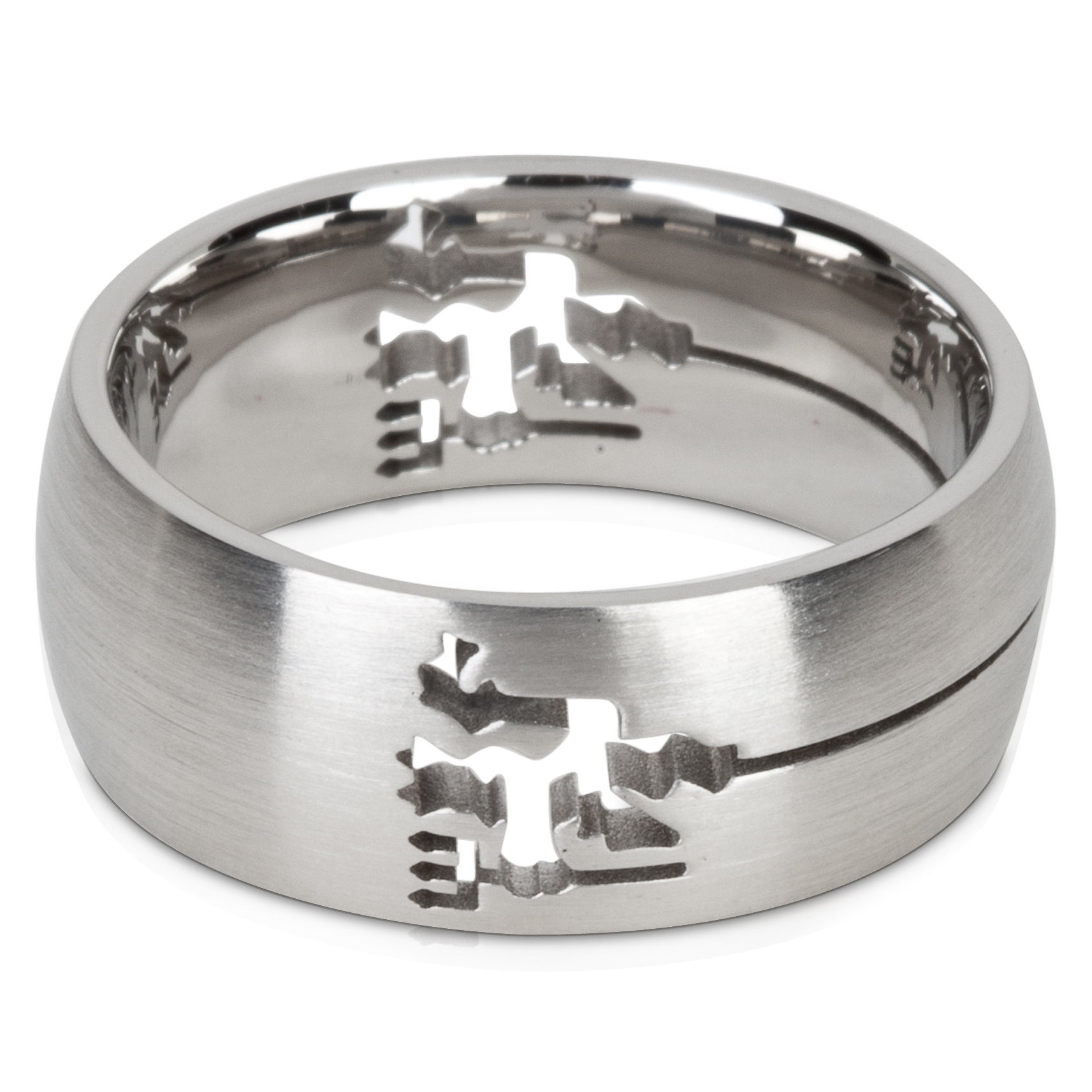 Manchester United Cut Out Devil Ring - Stainless Steel