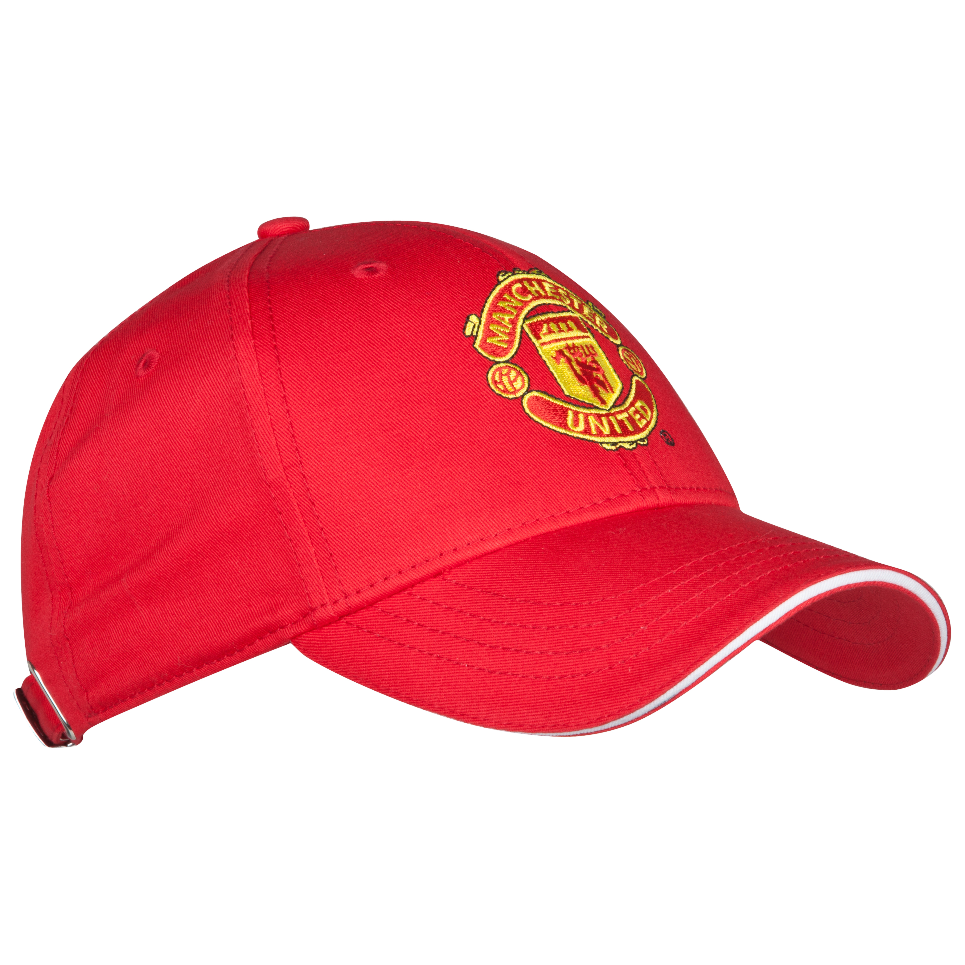 Manchester United Core Crest Cap - Red - Mens