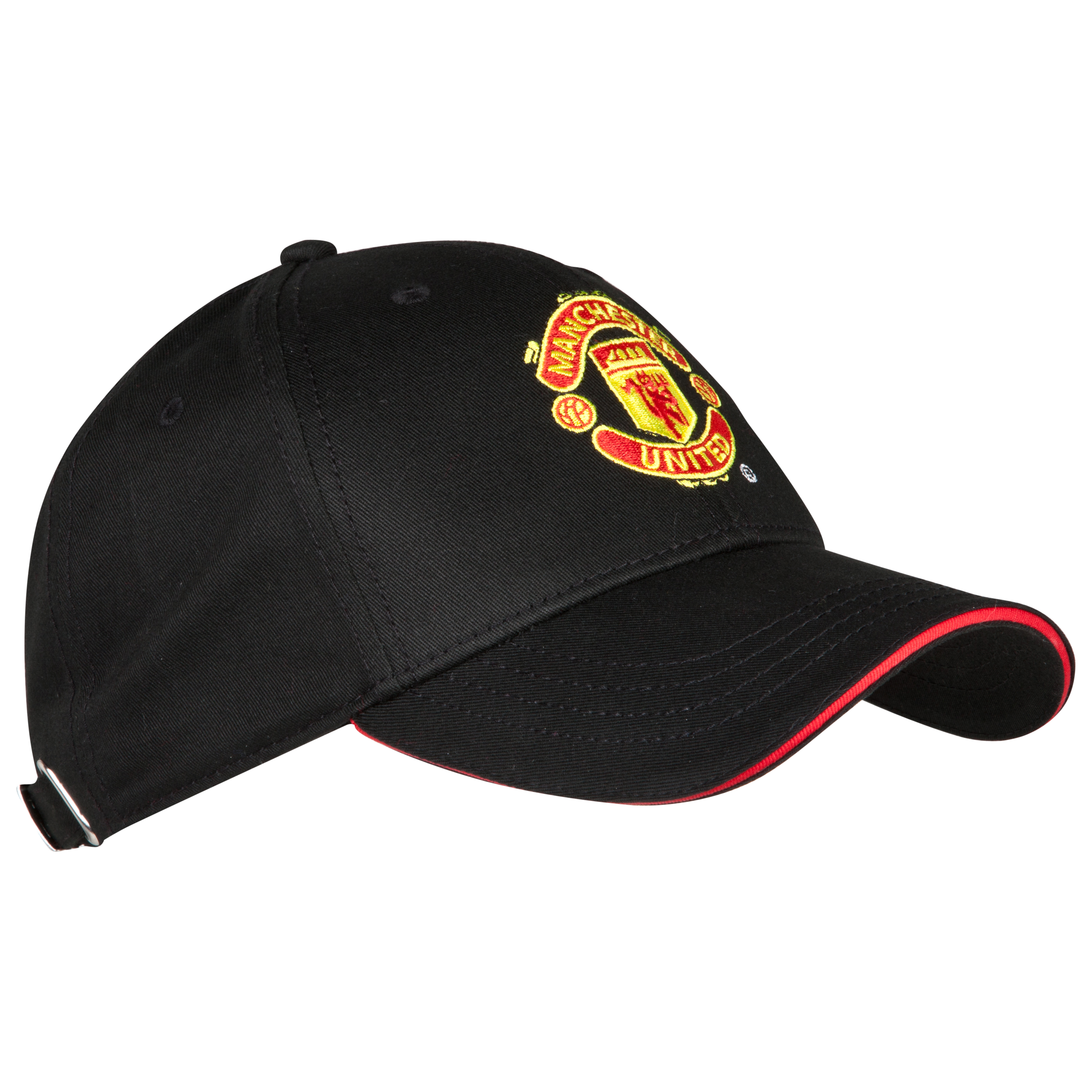 Manchester United Core Crest Cap - Black - Mens