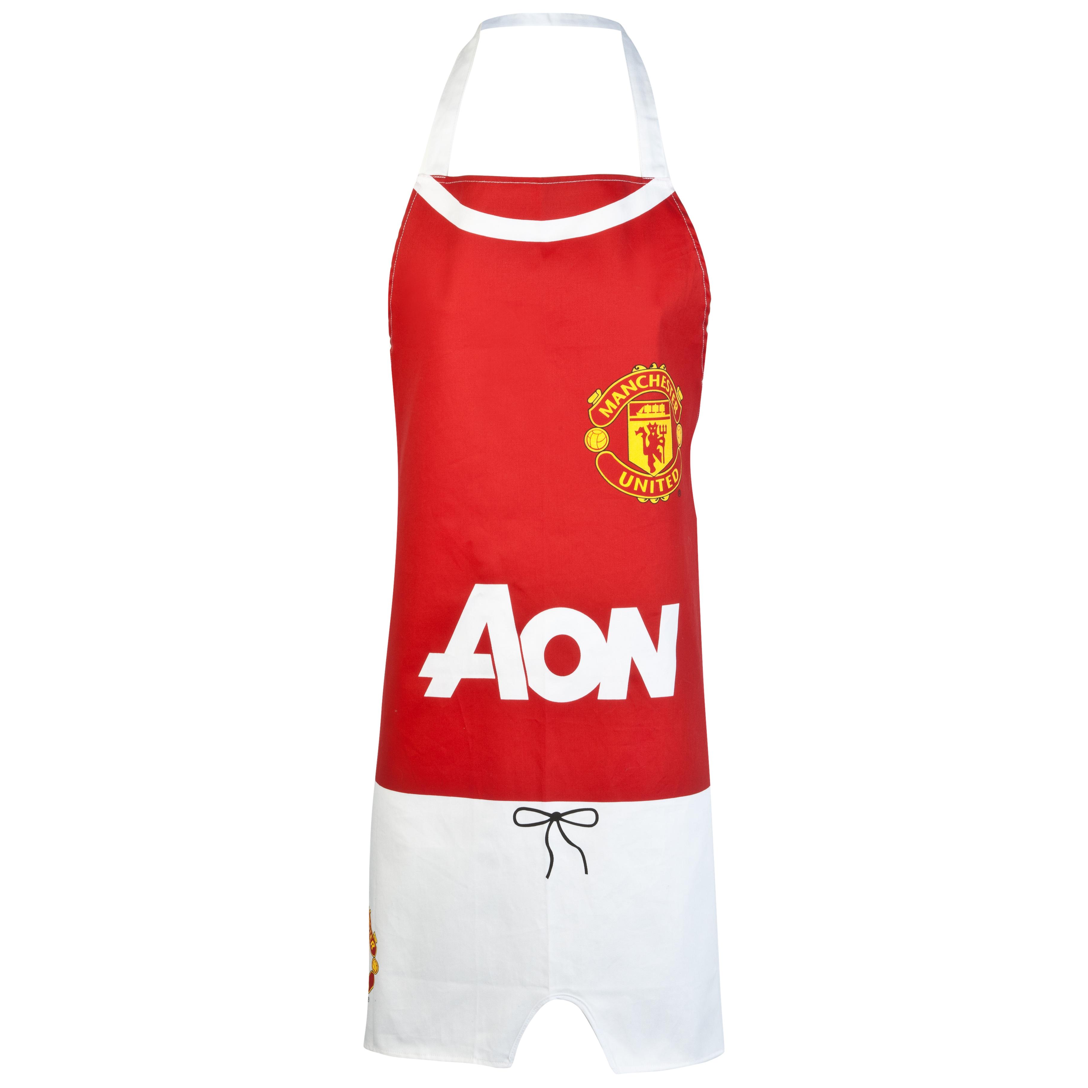 Manchester United Kit Sponsor Apron