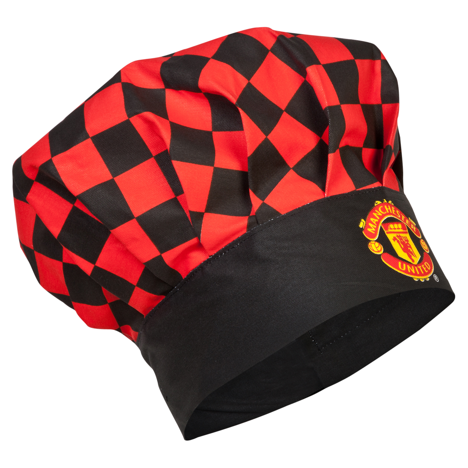 Manchester United Checked Chefs Hat