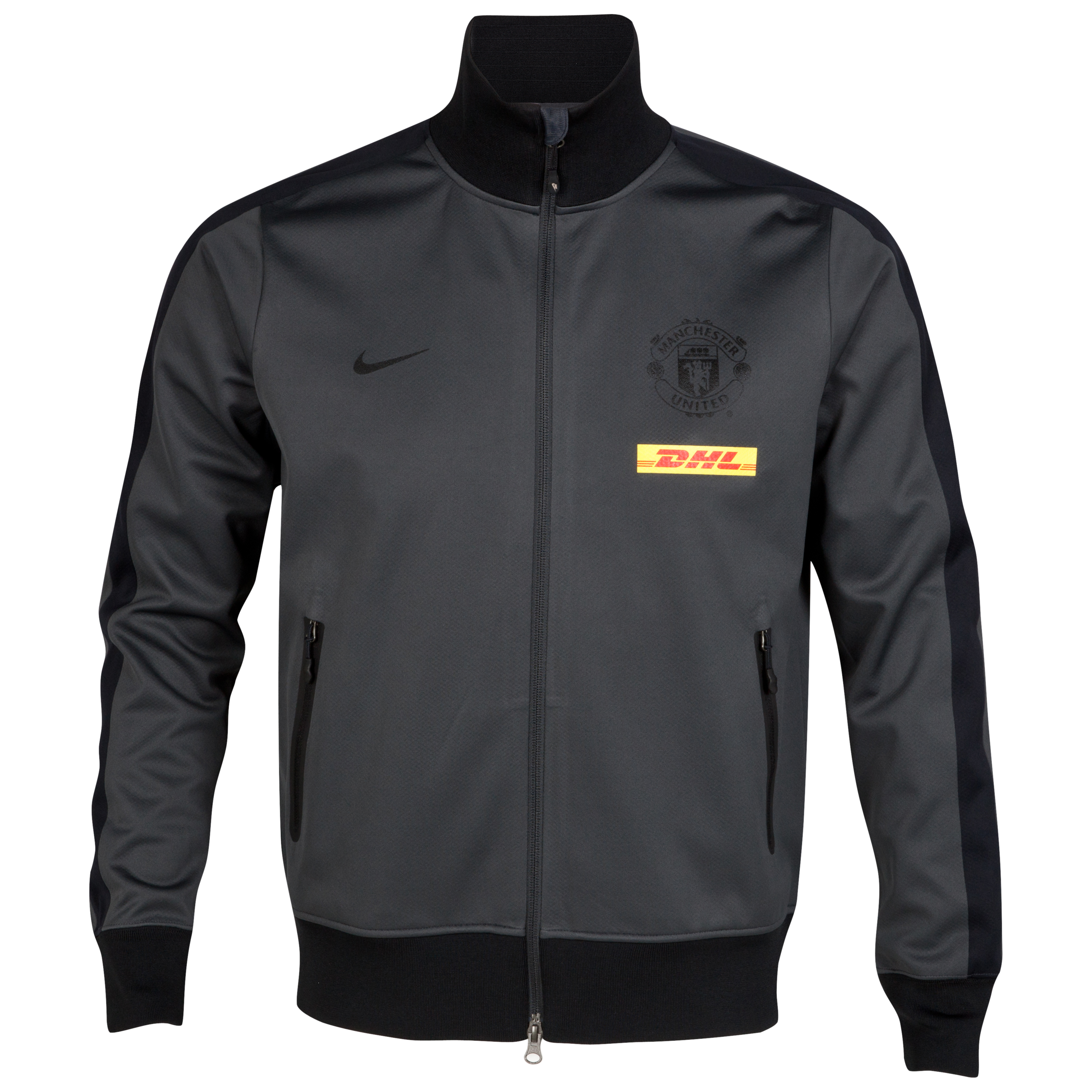 Manchester United Authentic N98 Jacket - Anthracite/Black/Black/Black
