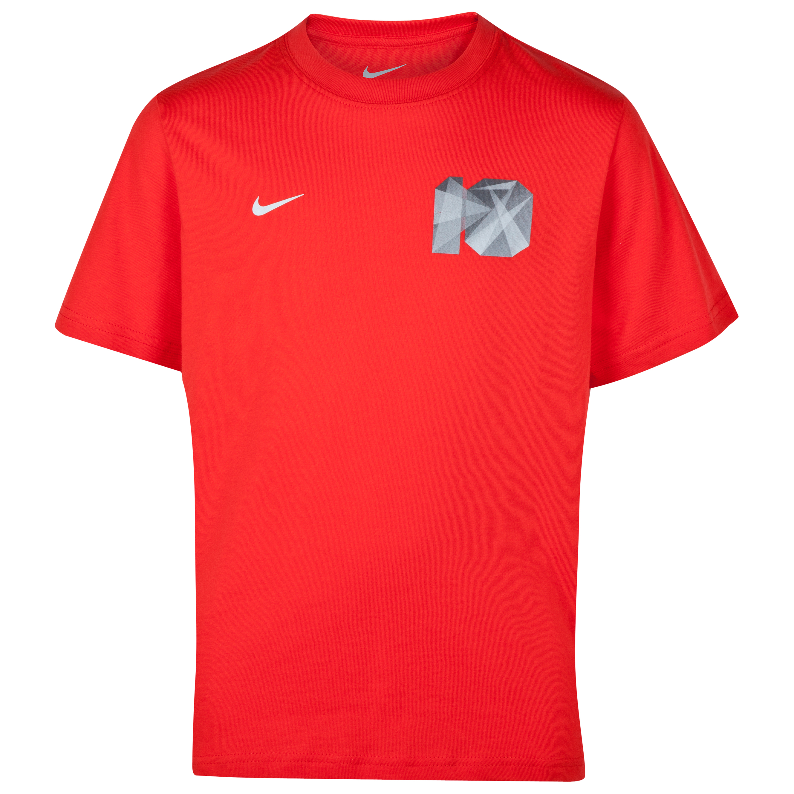 Nike Rooney Core Plus T-Shirt - Challenge Red - Kids