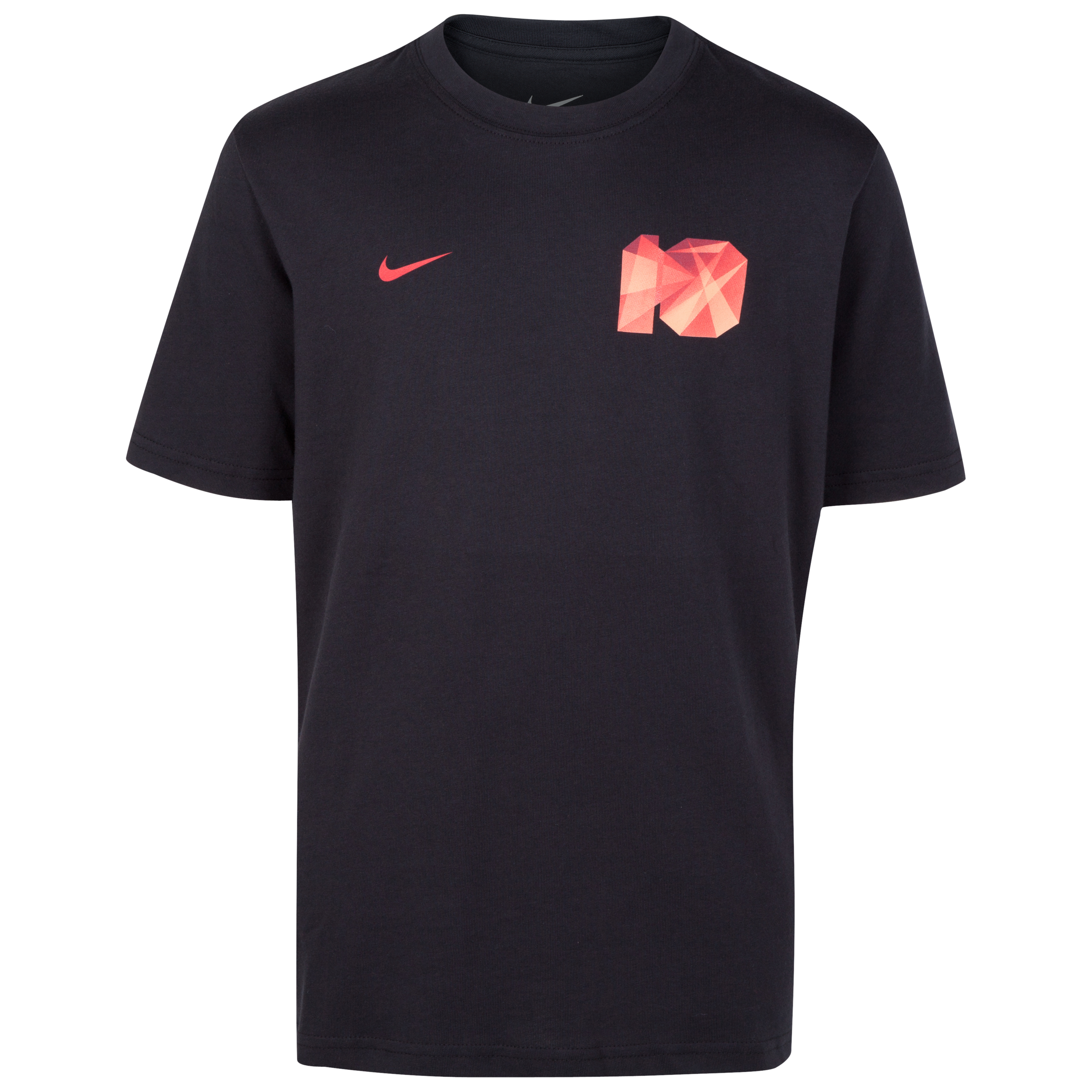 Nike Rooney Core Plus T-Shirt - Black - Youths