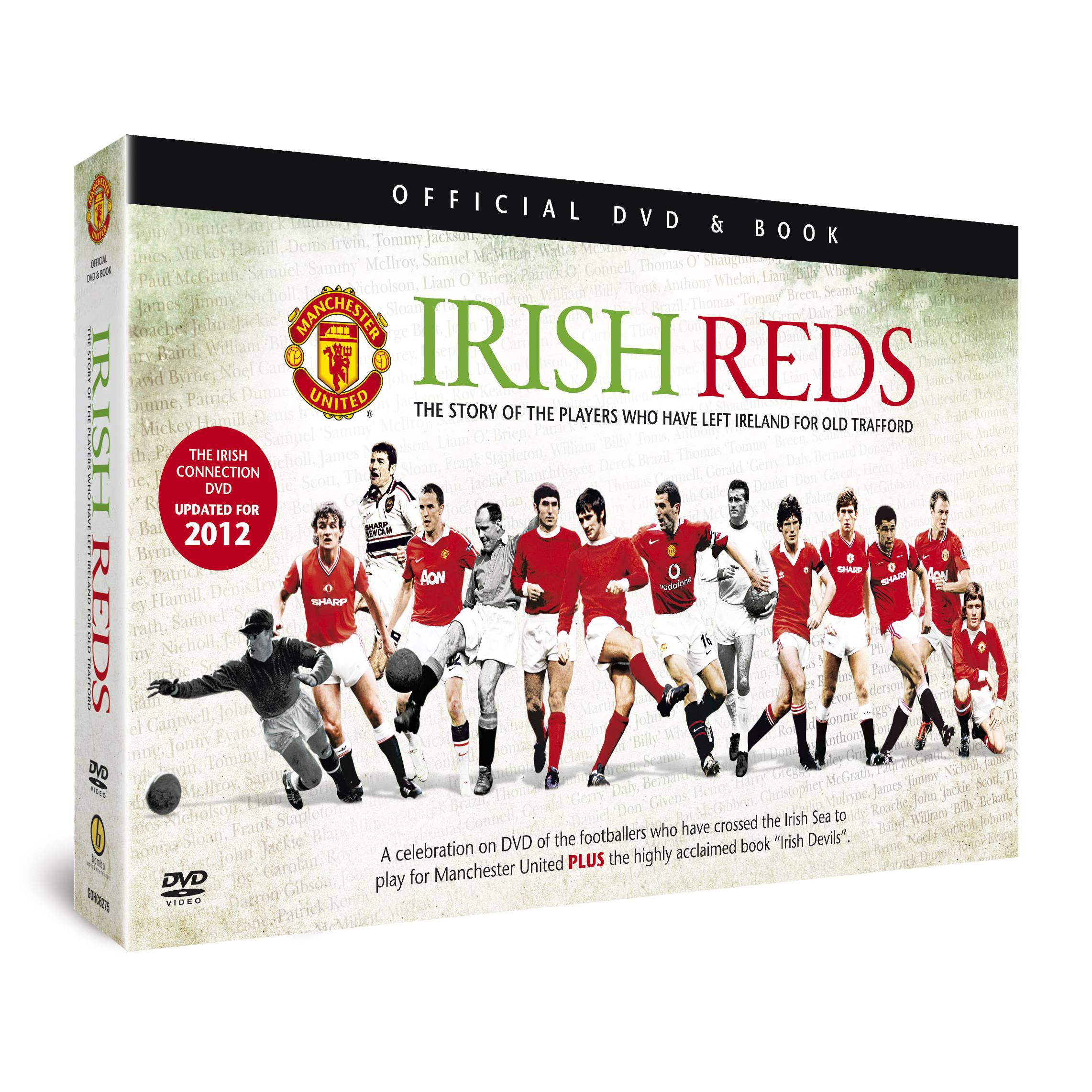 Manchester United Irish Reds DVD and Book