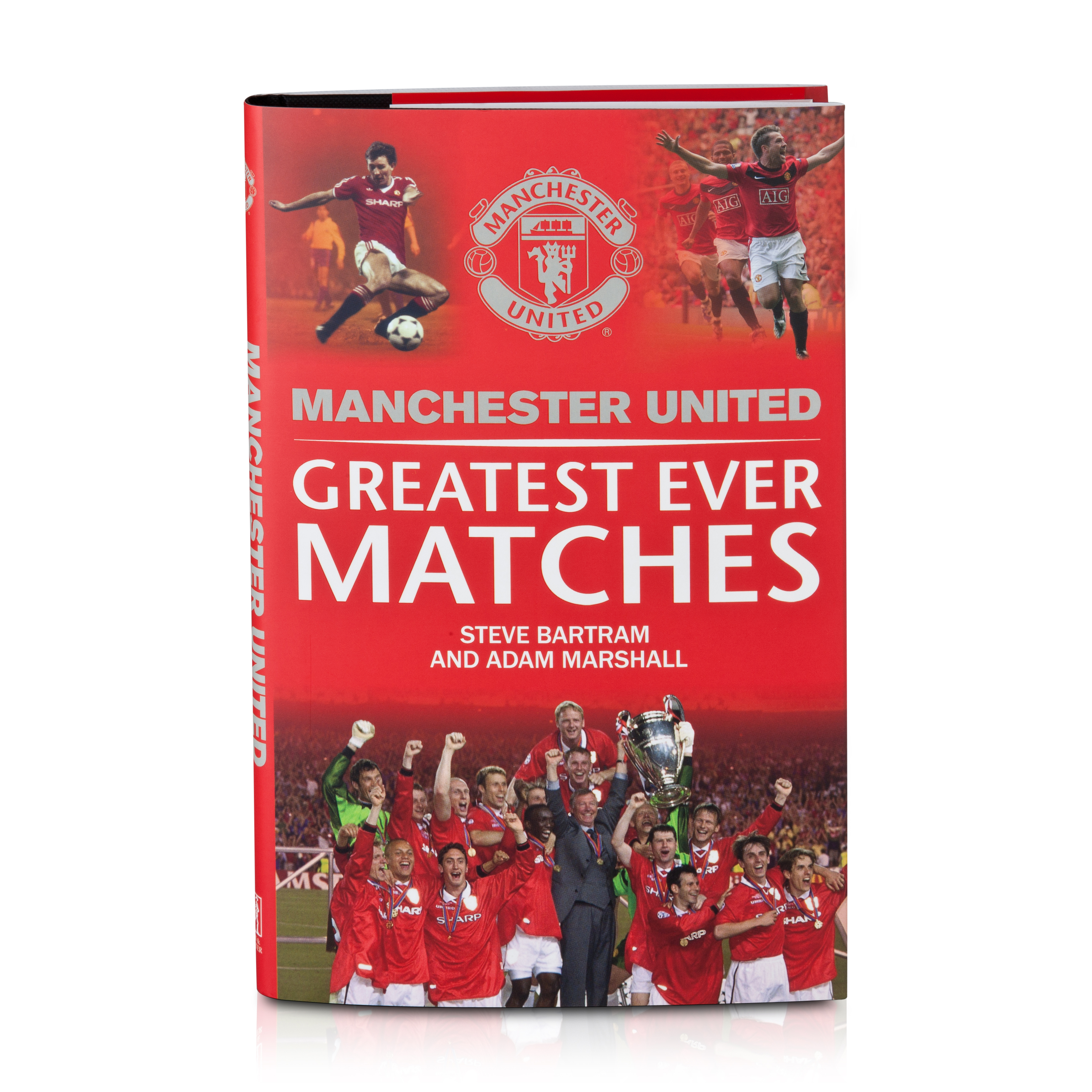 Manchester United Greatest Games Hardback Book