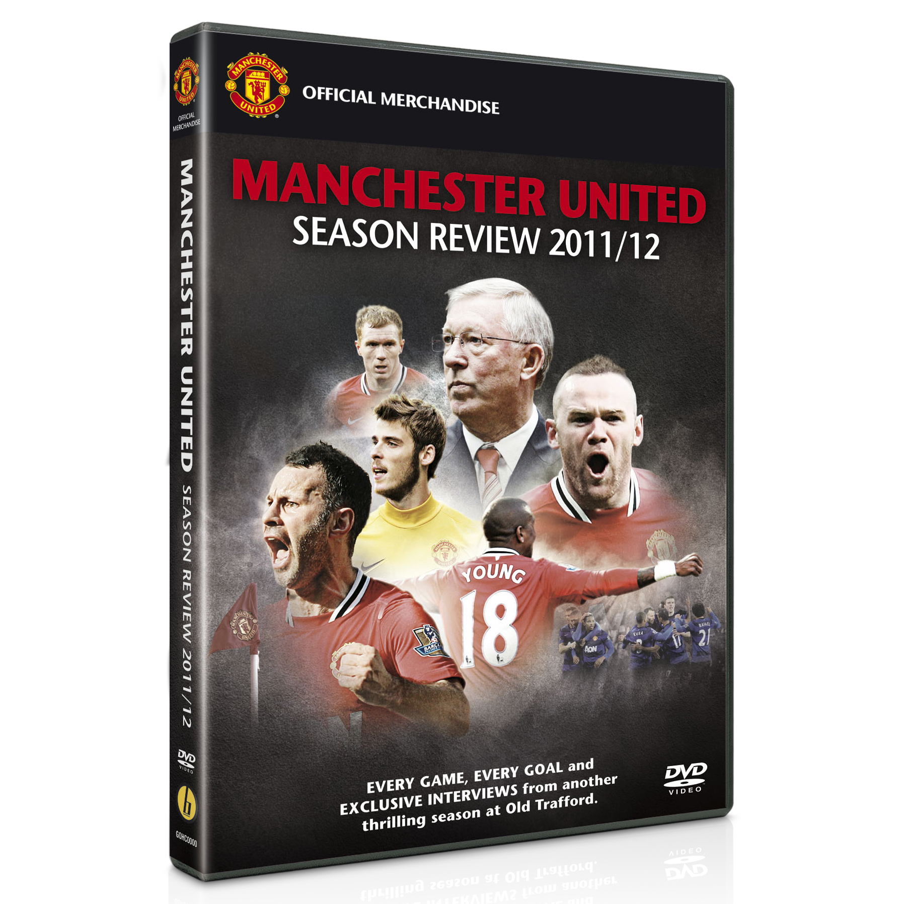 Manchester United 2011/12 Season Review DVD
